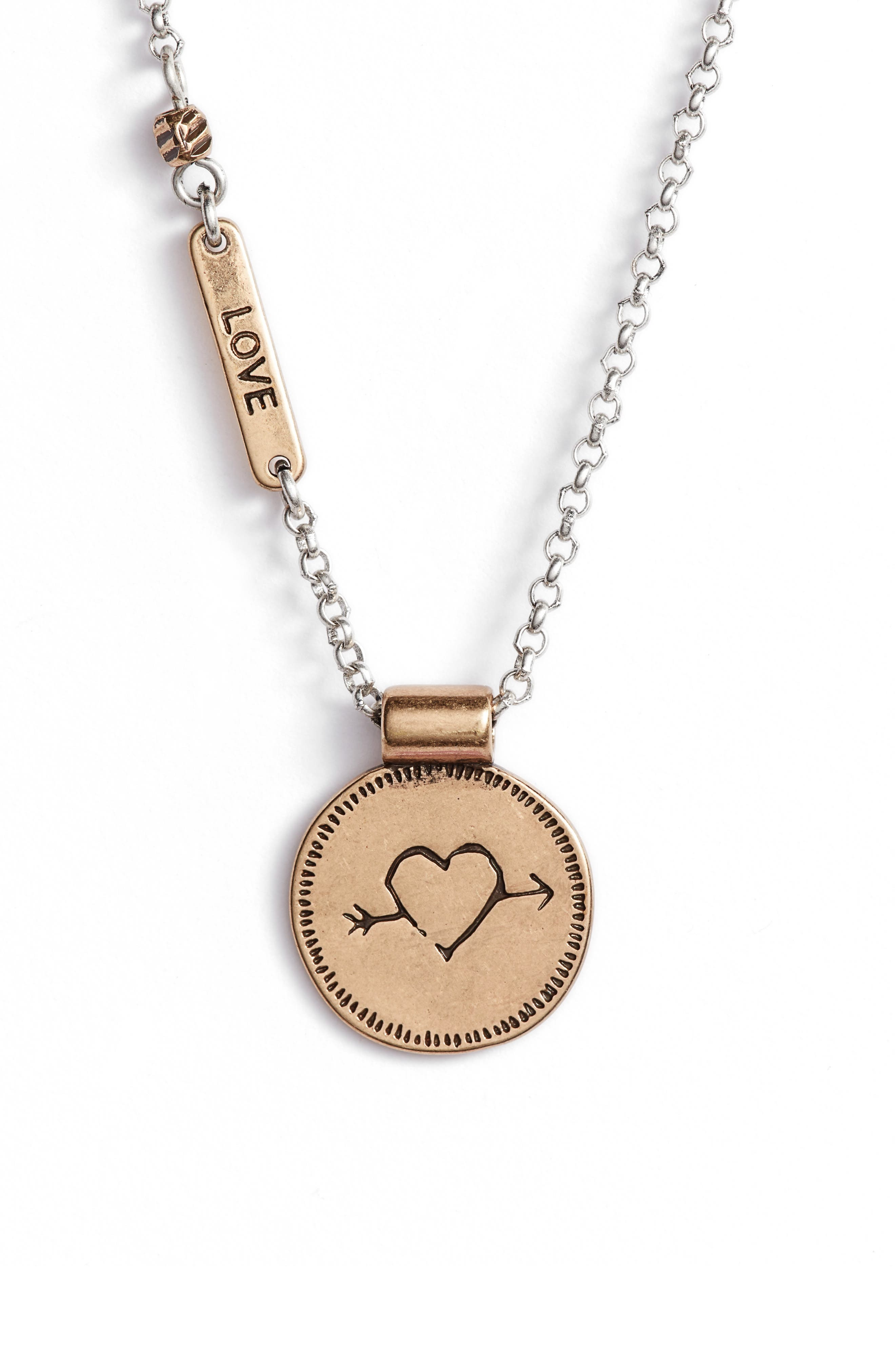 Treasure & Bond Delicate Sentiment Necklace