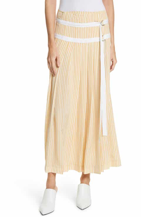 JOSEPH Clyde Deck Chair Stripe Maxi Skirt