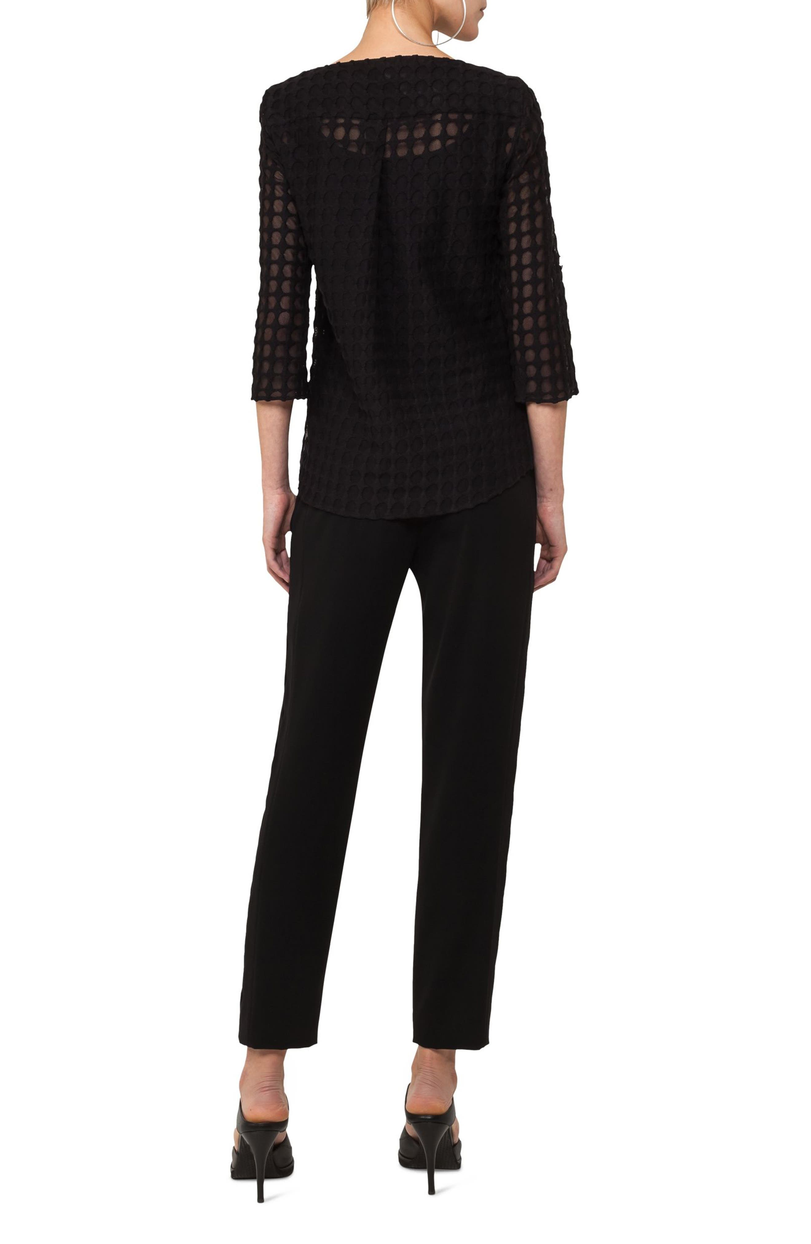 Alternate Image 2  - Akris punto Dot Lace Blouse