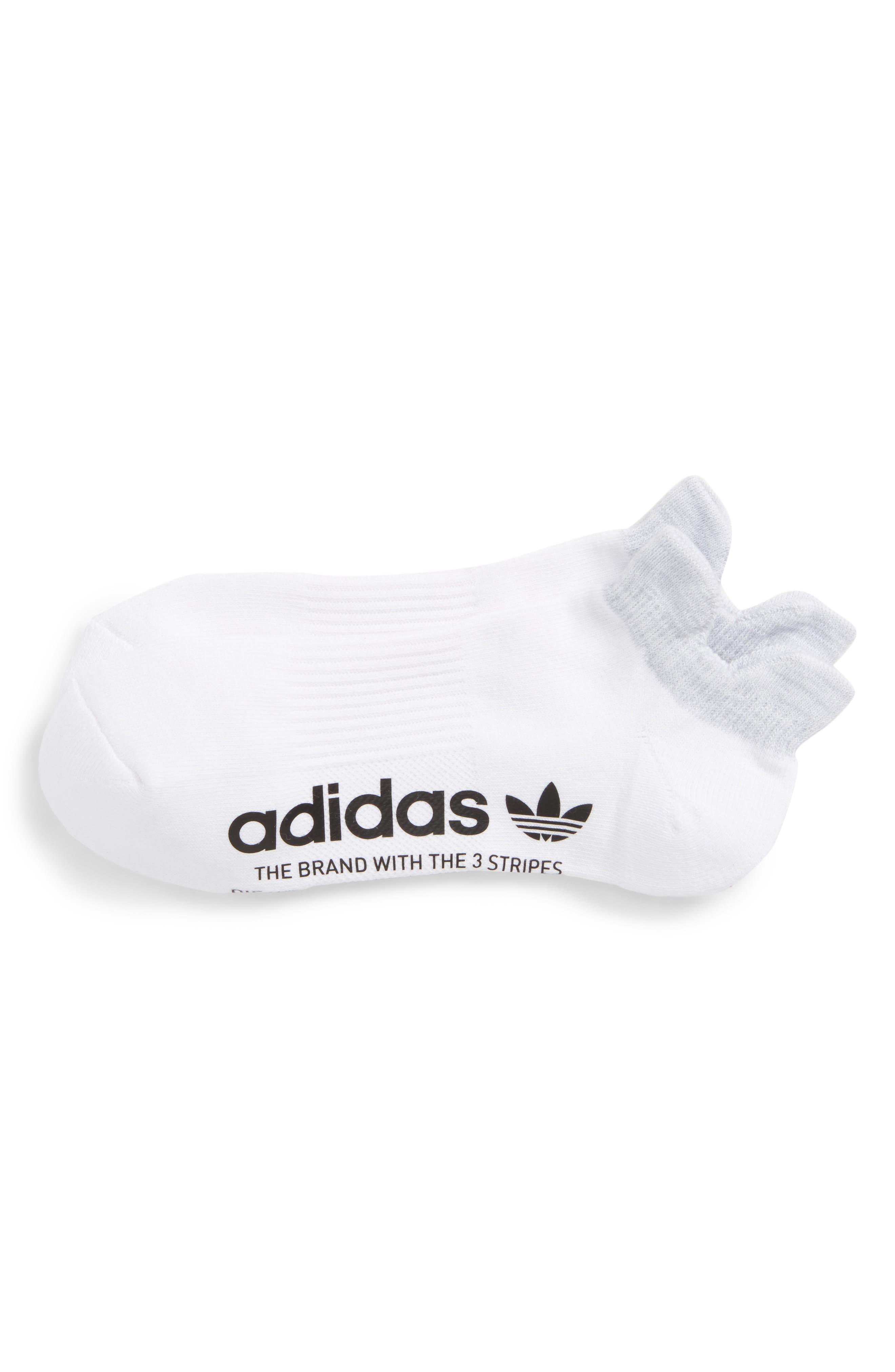 Running Socks,                             Main thumbnail 1, color,                             White/ Clear Onyx Space Dye