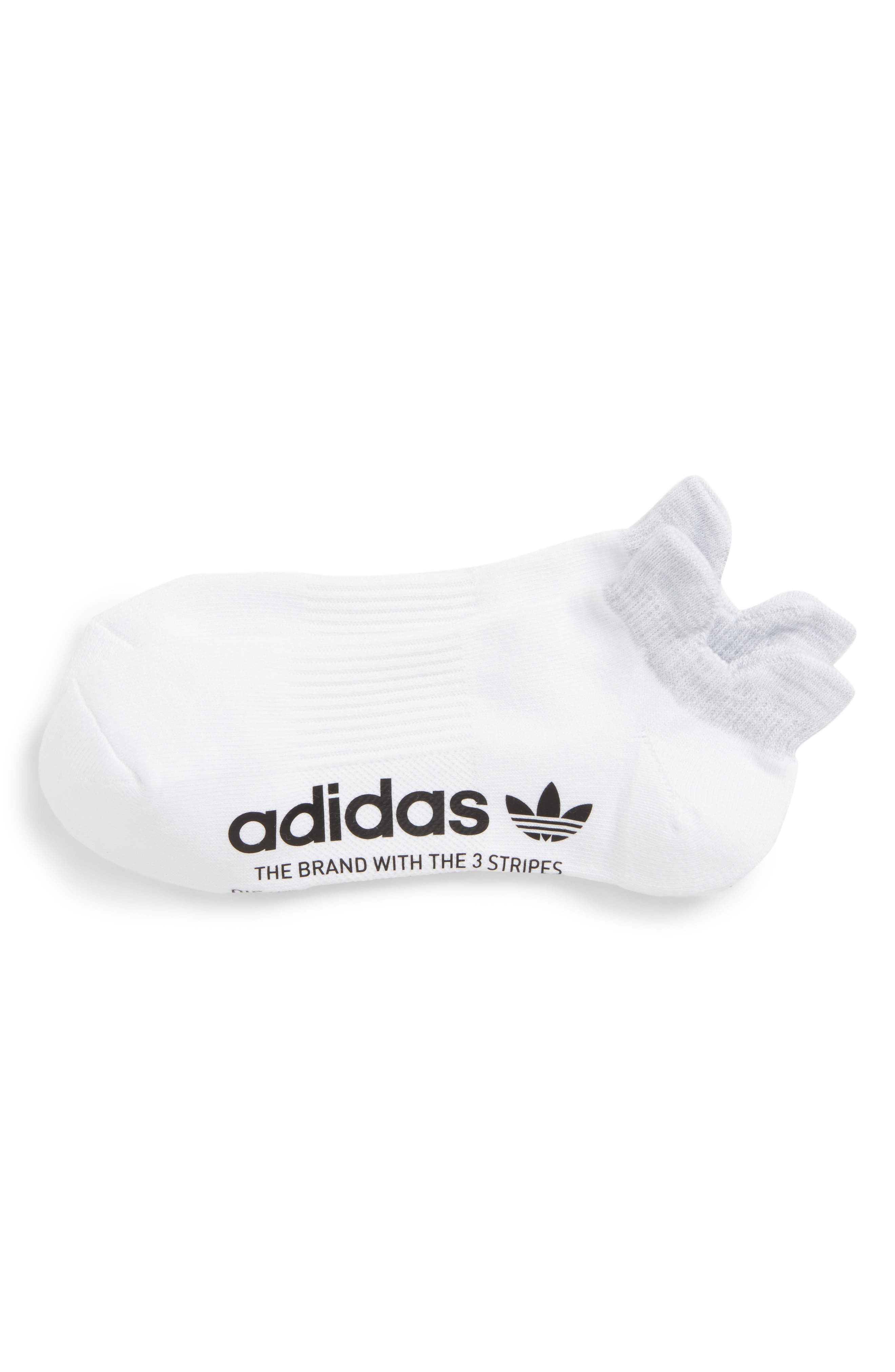Running Socks,                         Main,                         color, White/ Clear Onyx Space Dye
