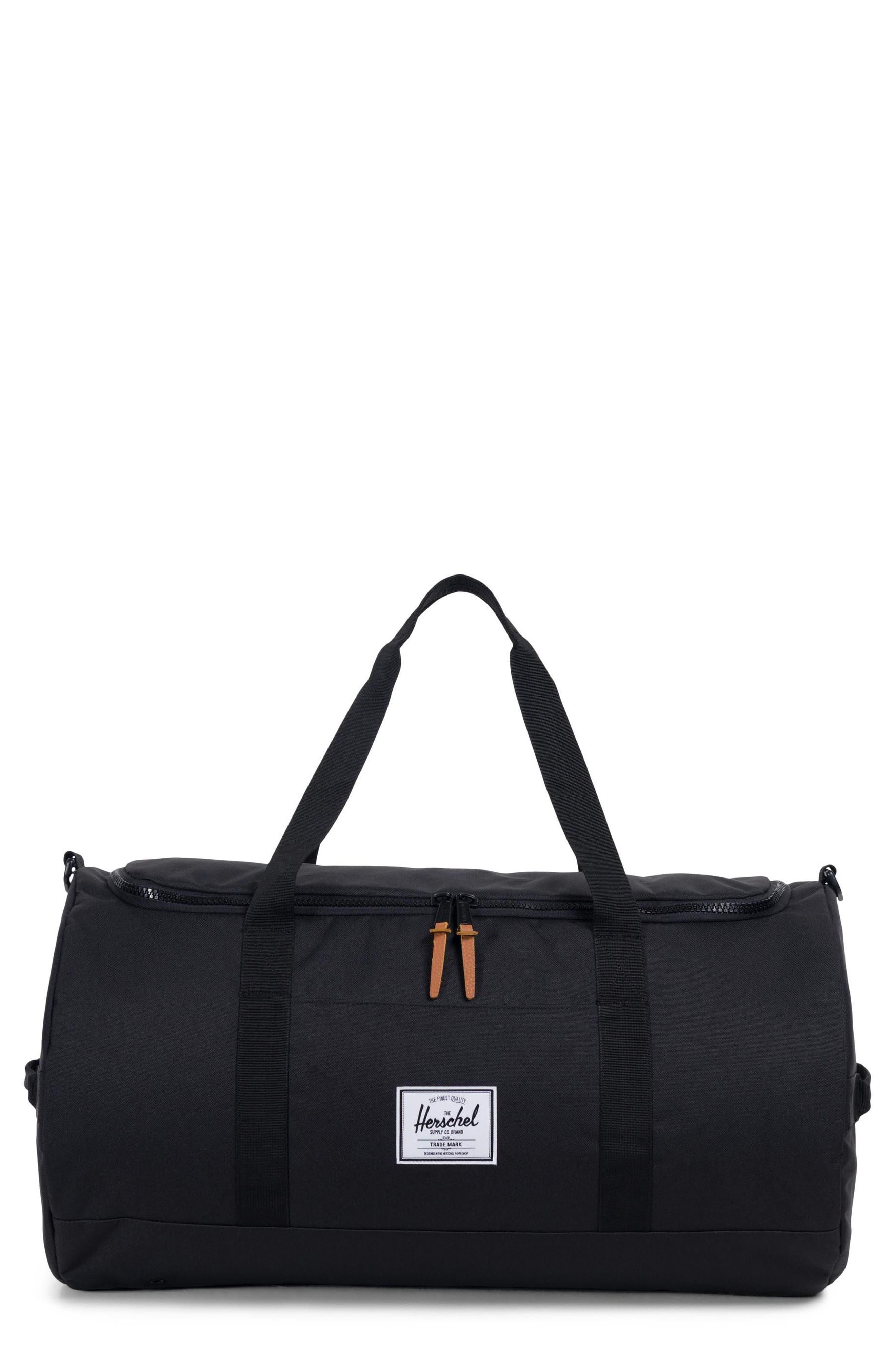 Sutton Duffel Bag,                         Main,                         color, Black