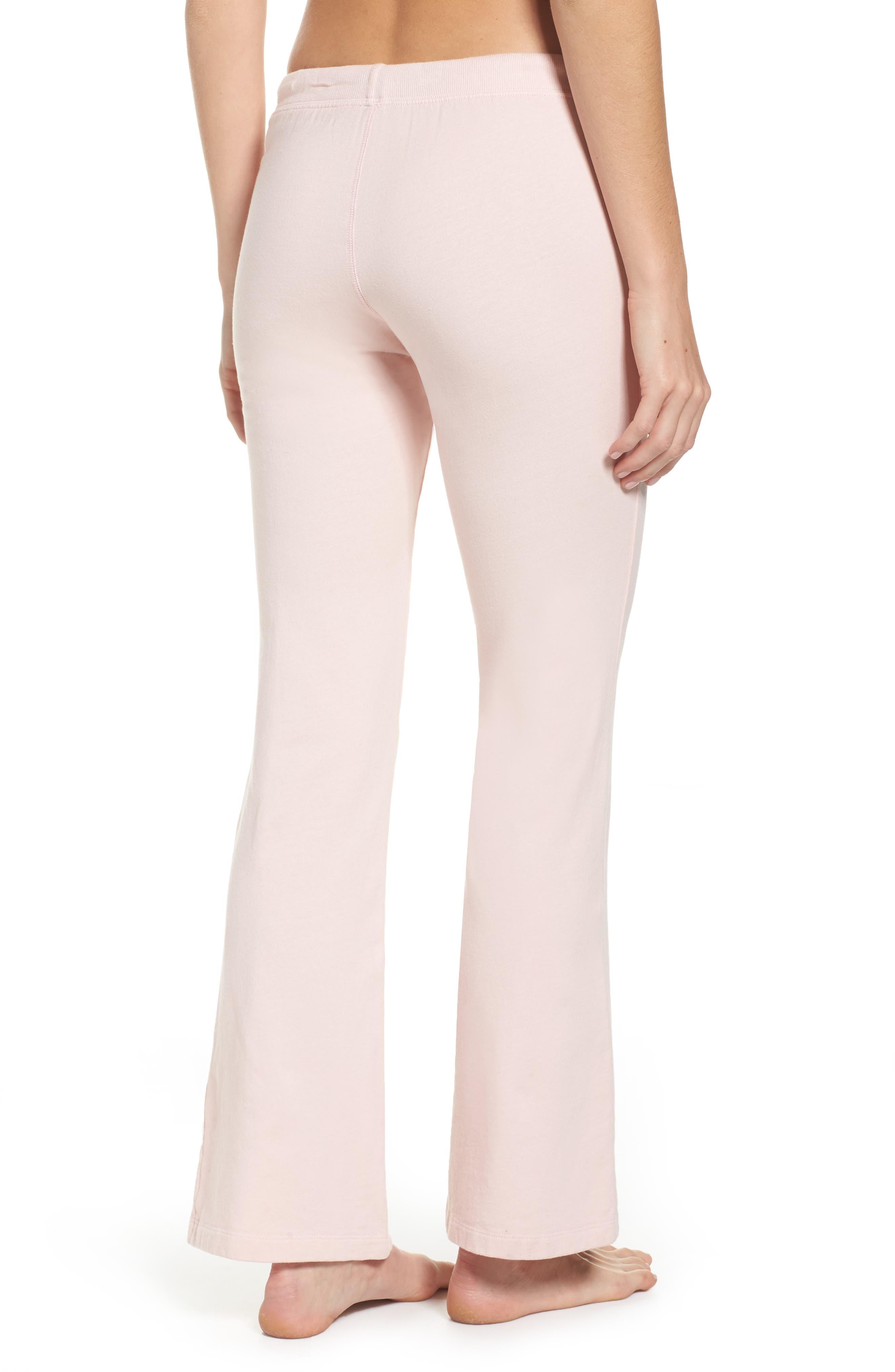Alternate Image 2  - LOVE+GRACE Fuzzy Flare Lounge Pants