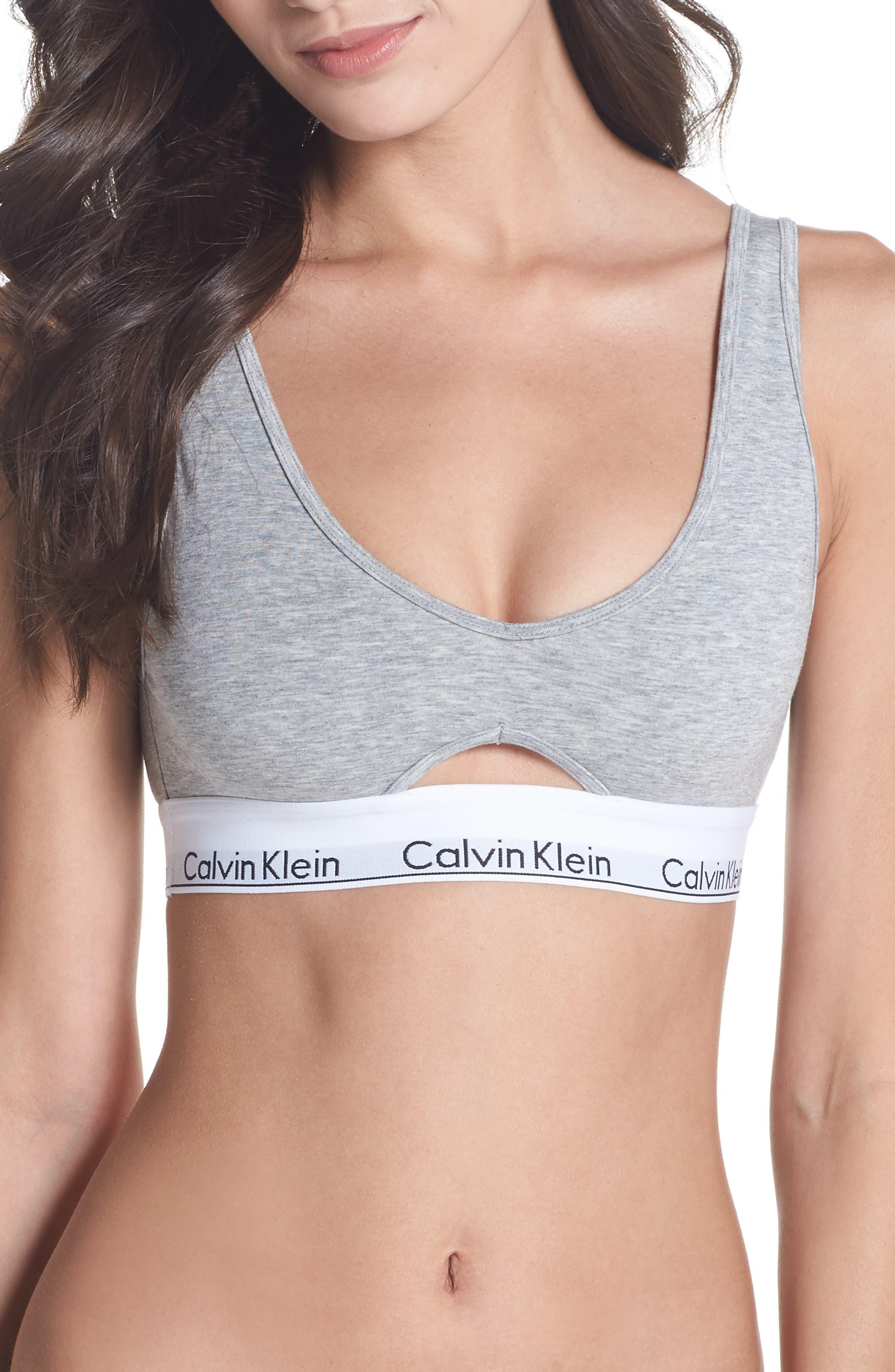 Main Image - Calvin Klein Cutout Bralette