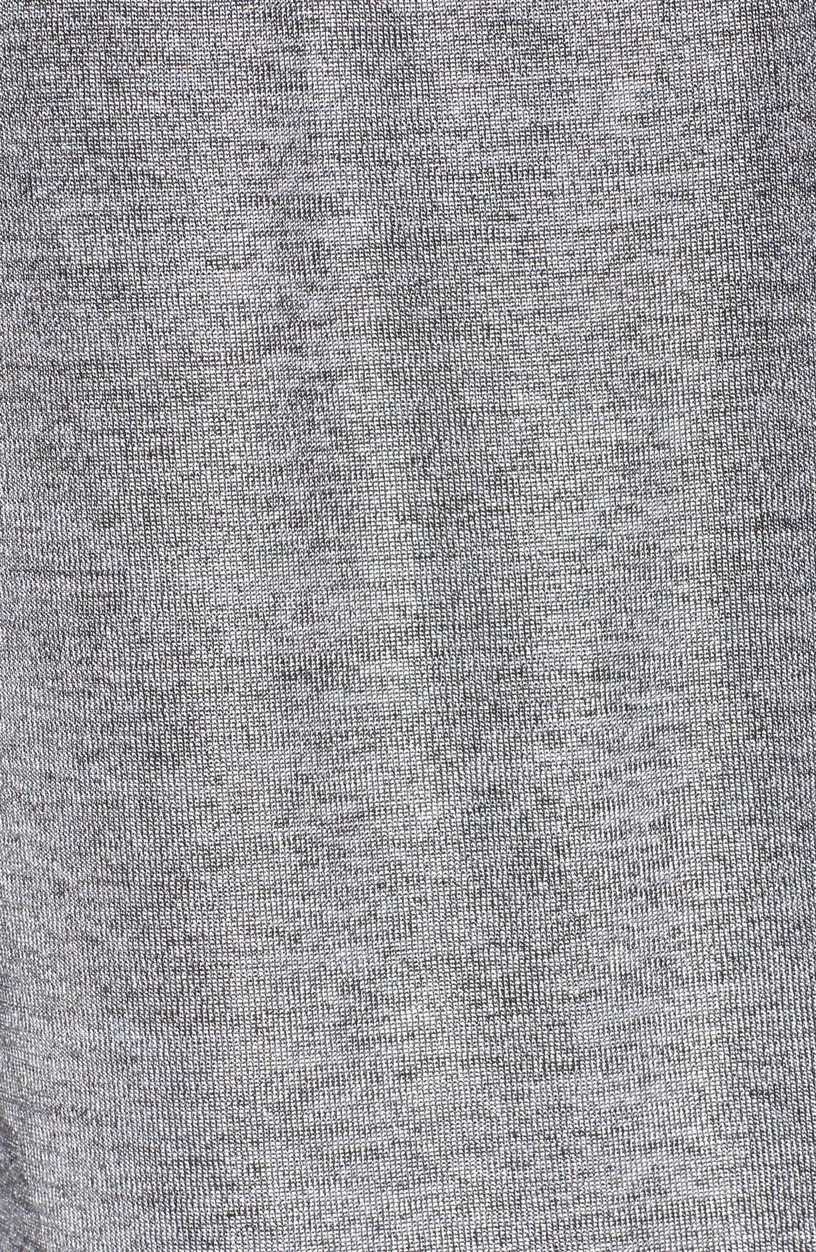 Prime Deanna Top,                             Alternate thumbnail 6, color,                             Silver Heather