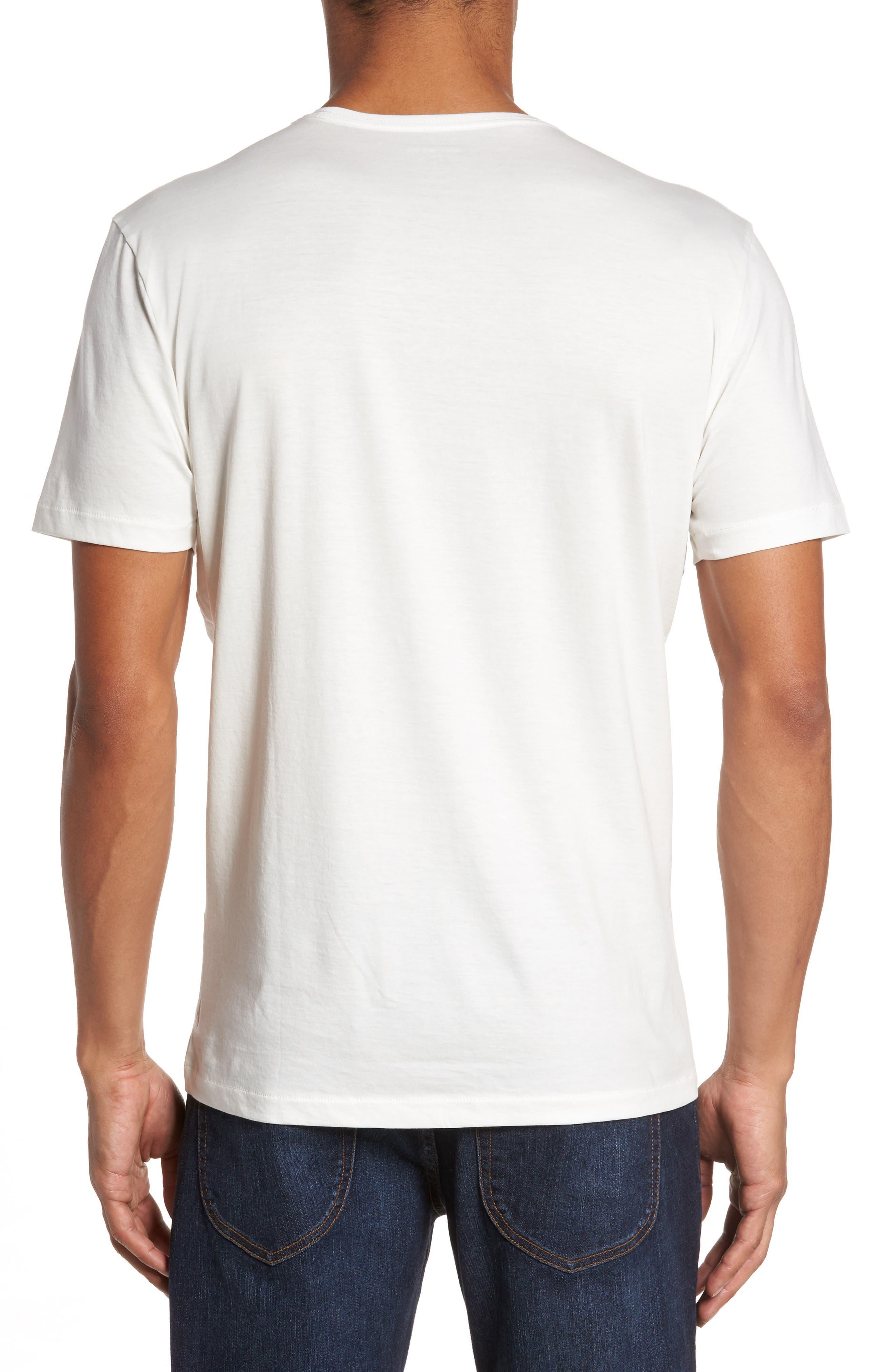 Refined T-Shirt,                             Alternate thumbnail 2, color,                             White