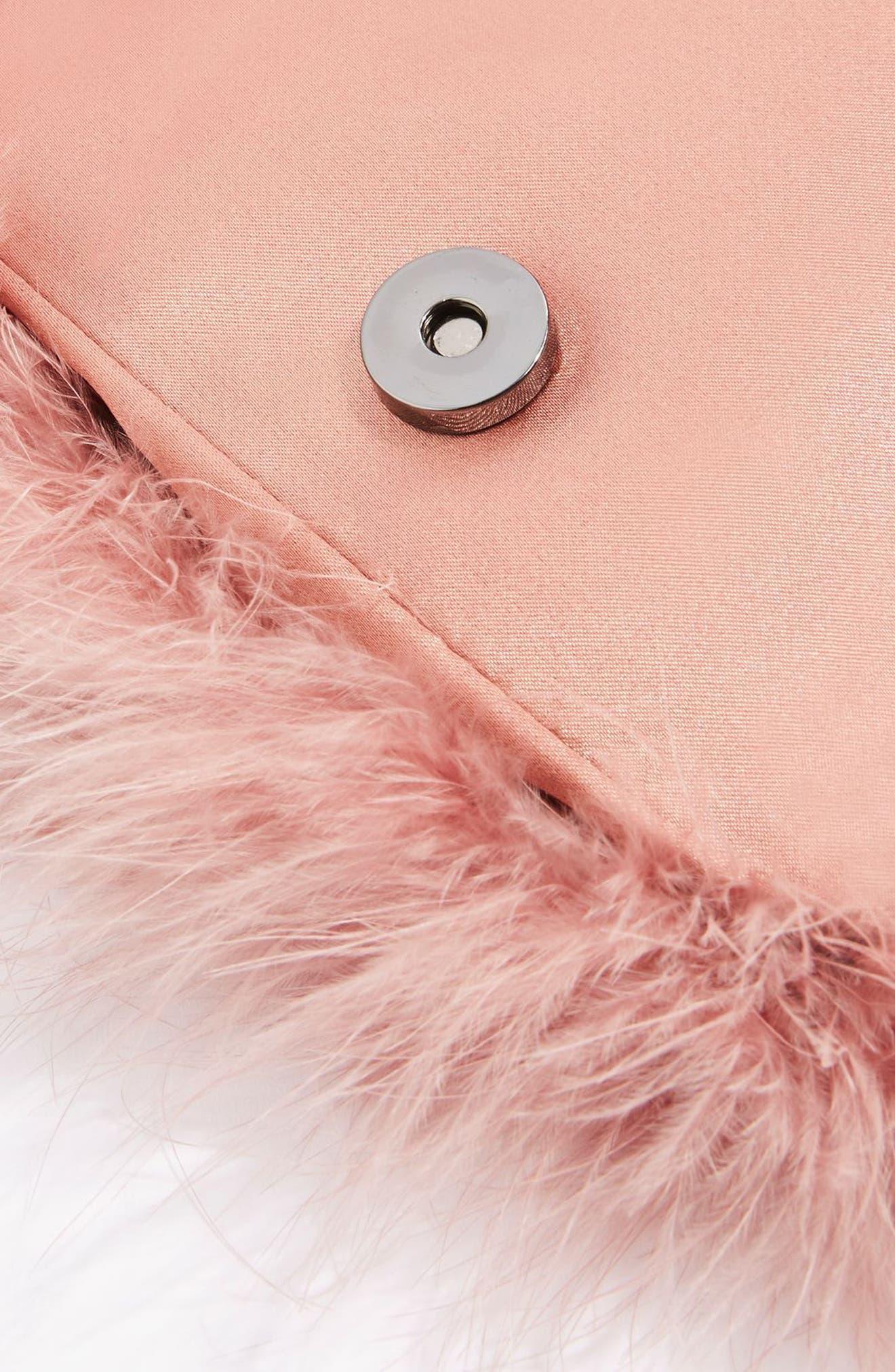 Alternate Image 3  - Topshop Riga Feather Crossbody Bag