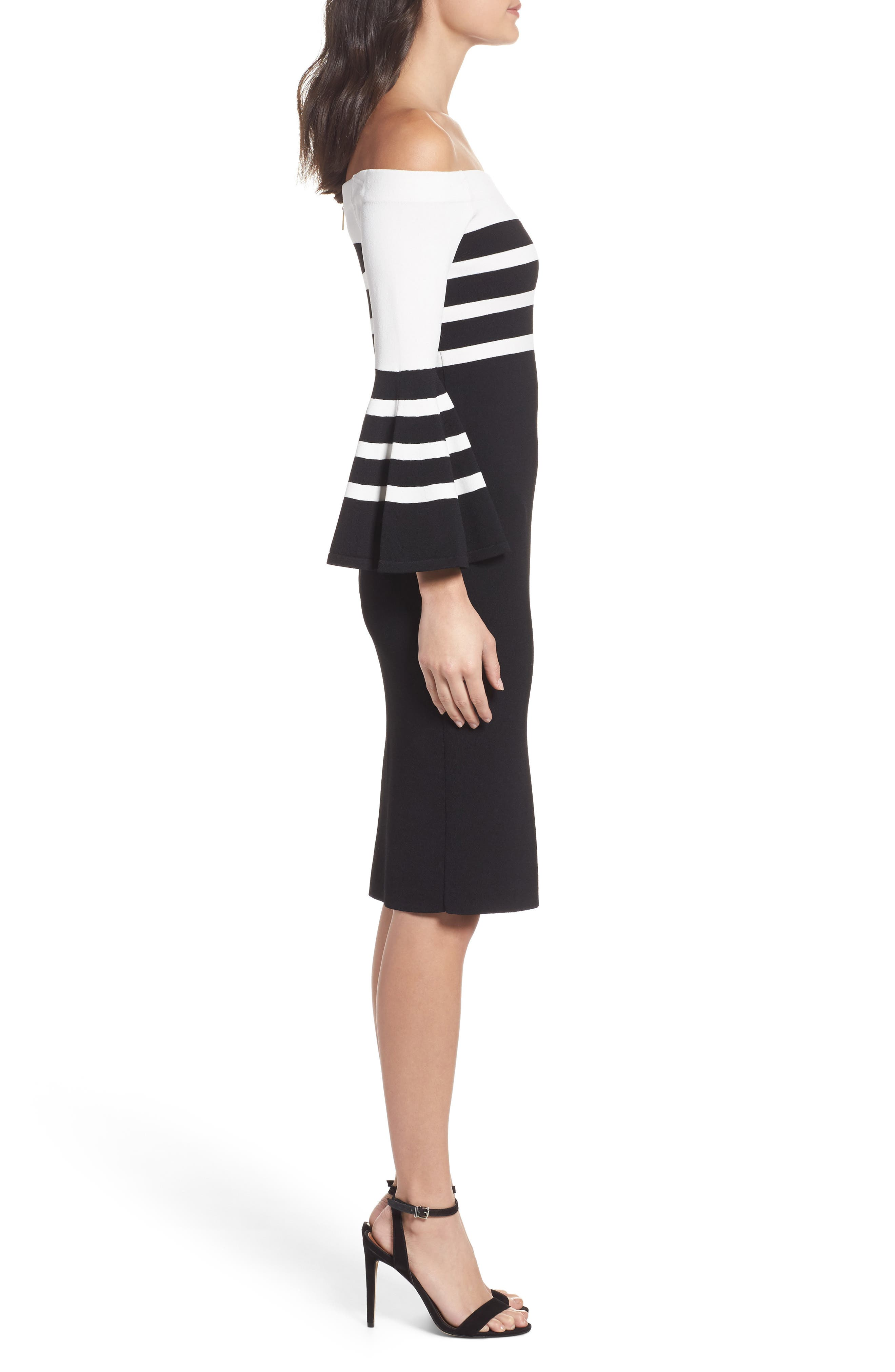 Alternate Image 3  - Chelsea28 Off the Shoulder Sweater Dress