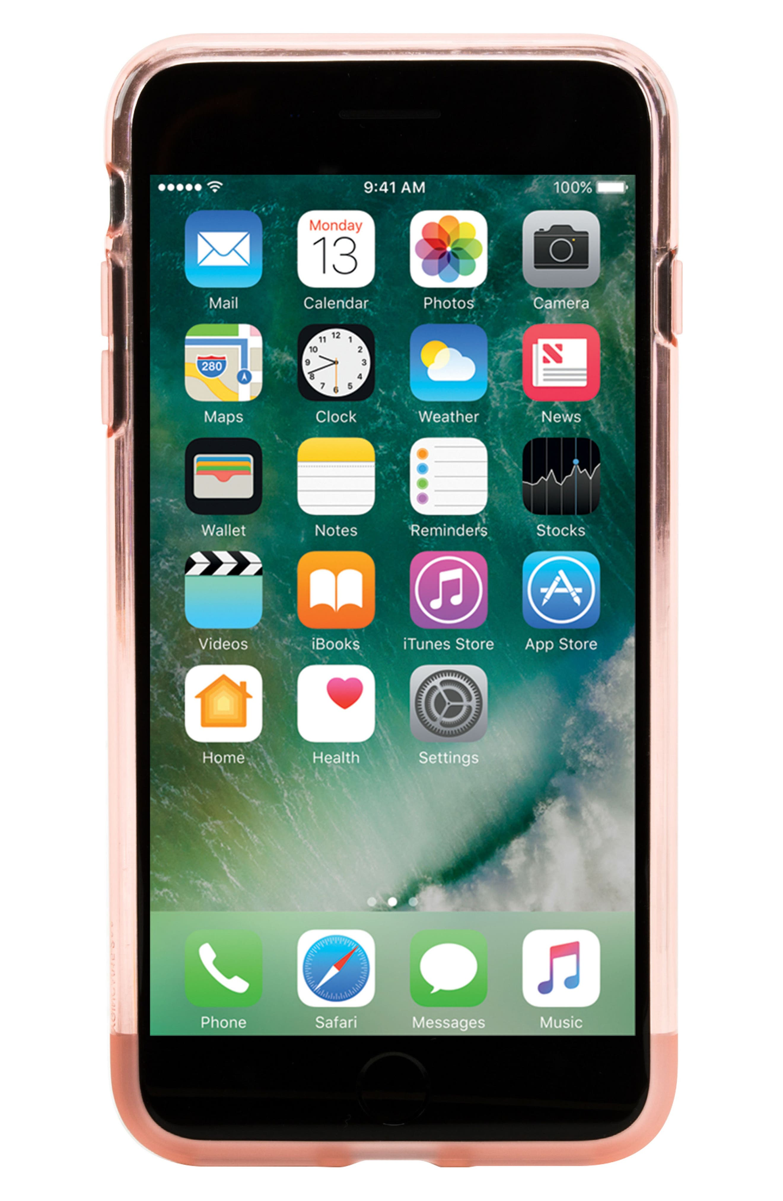 Protective iPhone 7 Plus/8 Plus Case,                             Alternate thumbnail 7, color,                             Rose Quartz