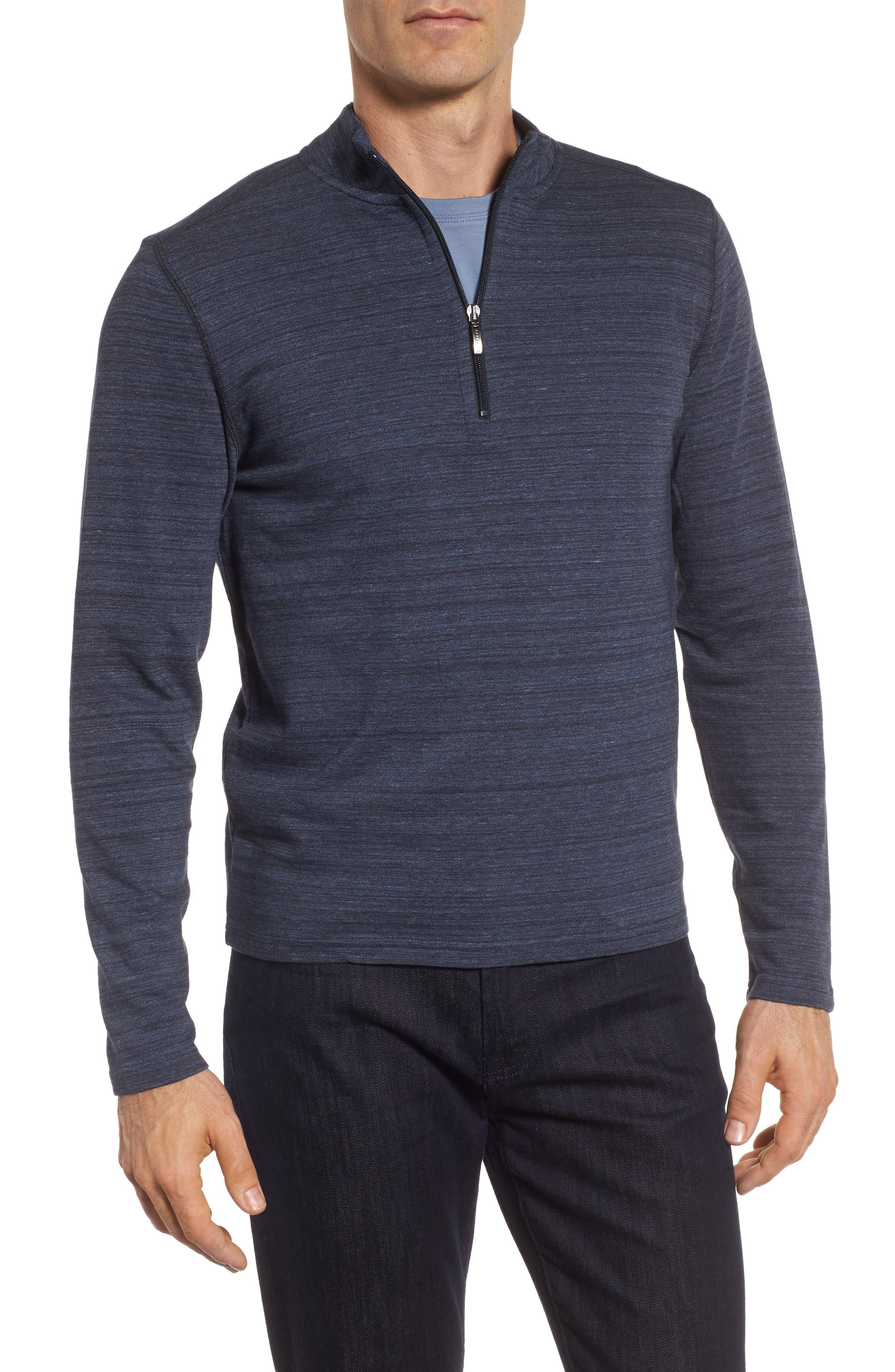 Robert Barakett Marcel Quarter Zip Pullover