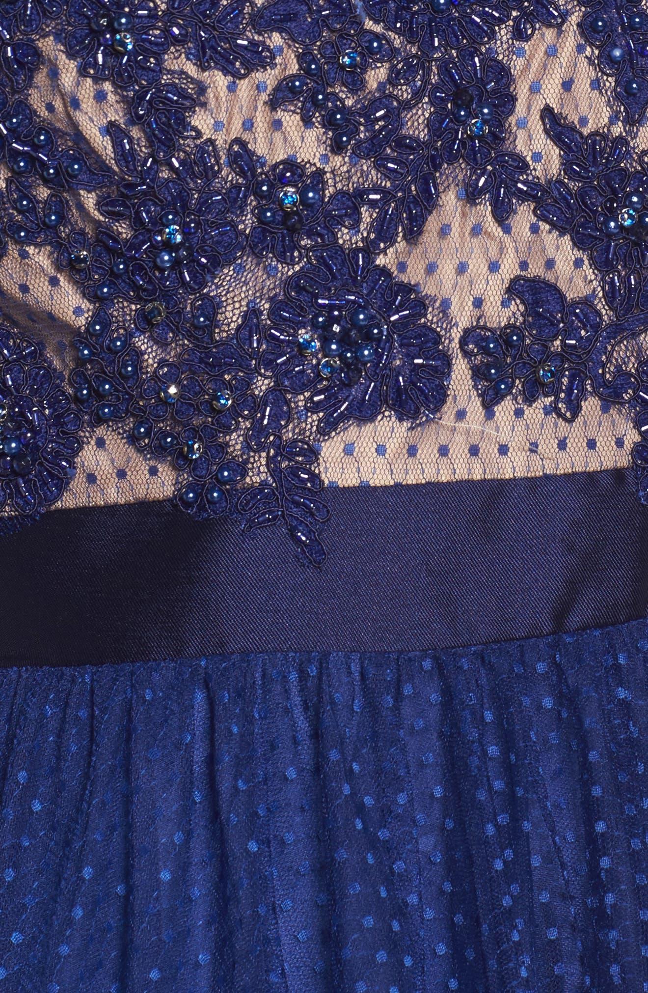 Alternate Image 5  - Mac Duggal Beaded Bodice Gown