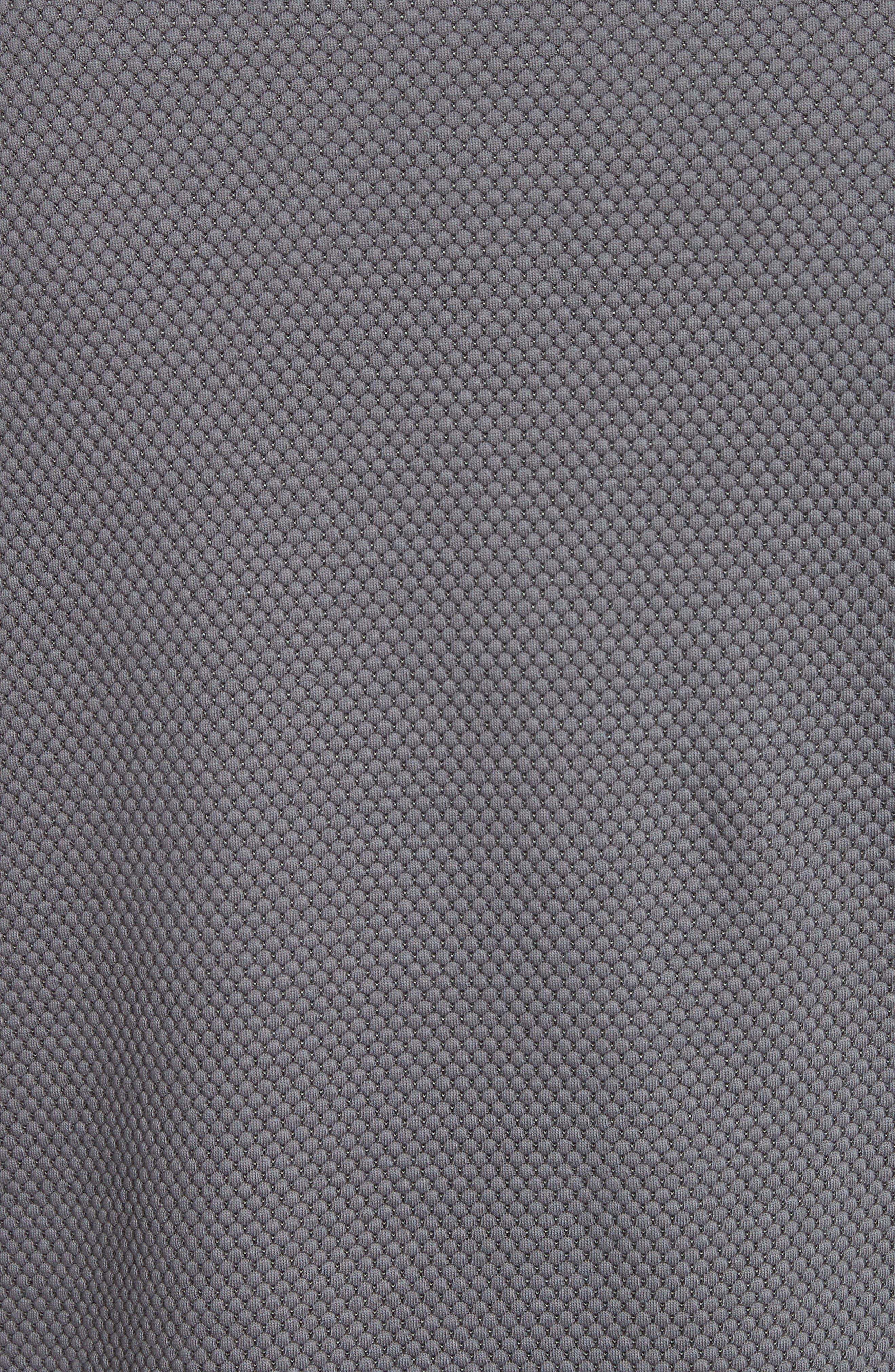 Alternate Image 5  - Emporio Armani Honeycomb Jacquard Slim Fit T-Shirt