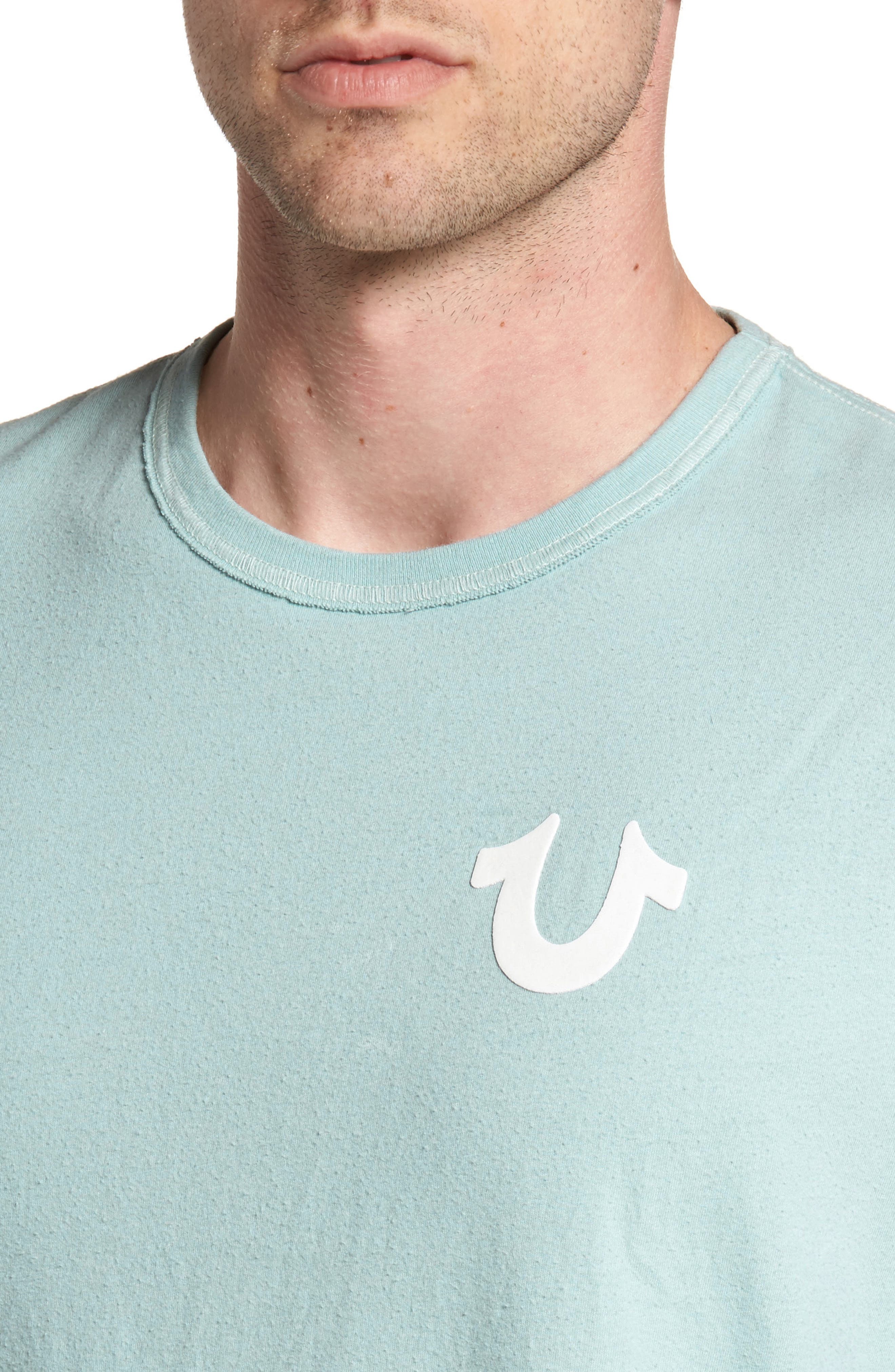 Core T-Shirt,                             Alternate thumbnail 4, color,                             Pale Blue