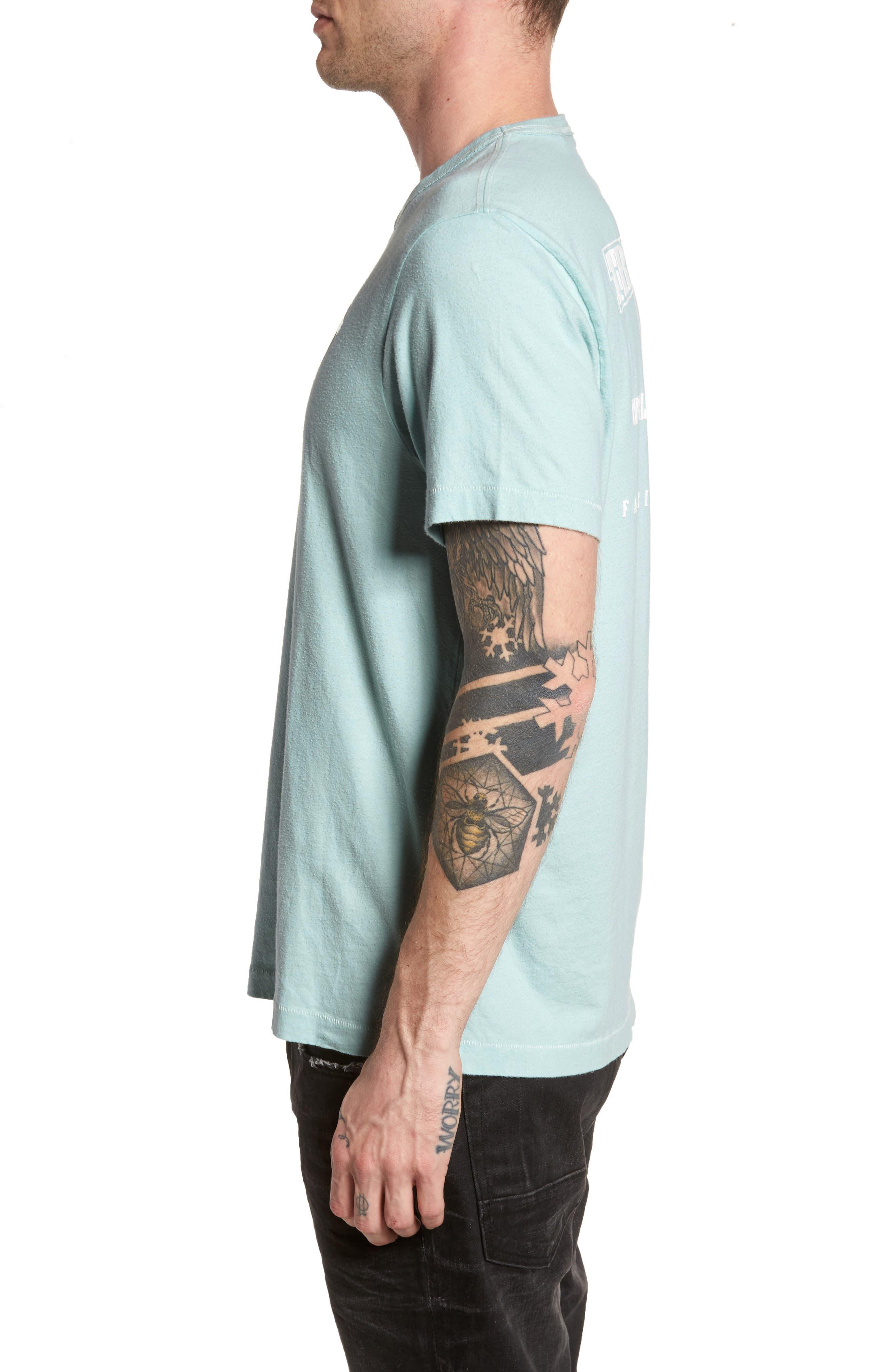 Core T-Shirt,                             Alternate thumbnail 3, color,                             Pale Blue