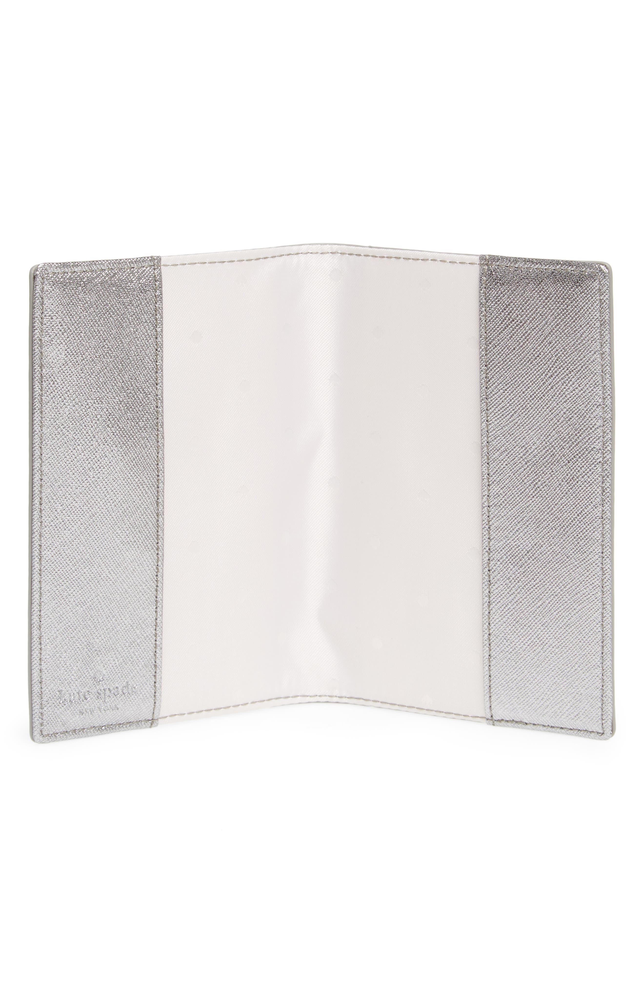 starbright owl leather passport case,                             Alternate thumbnail 2, color,                             Multi