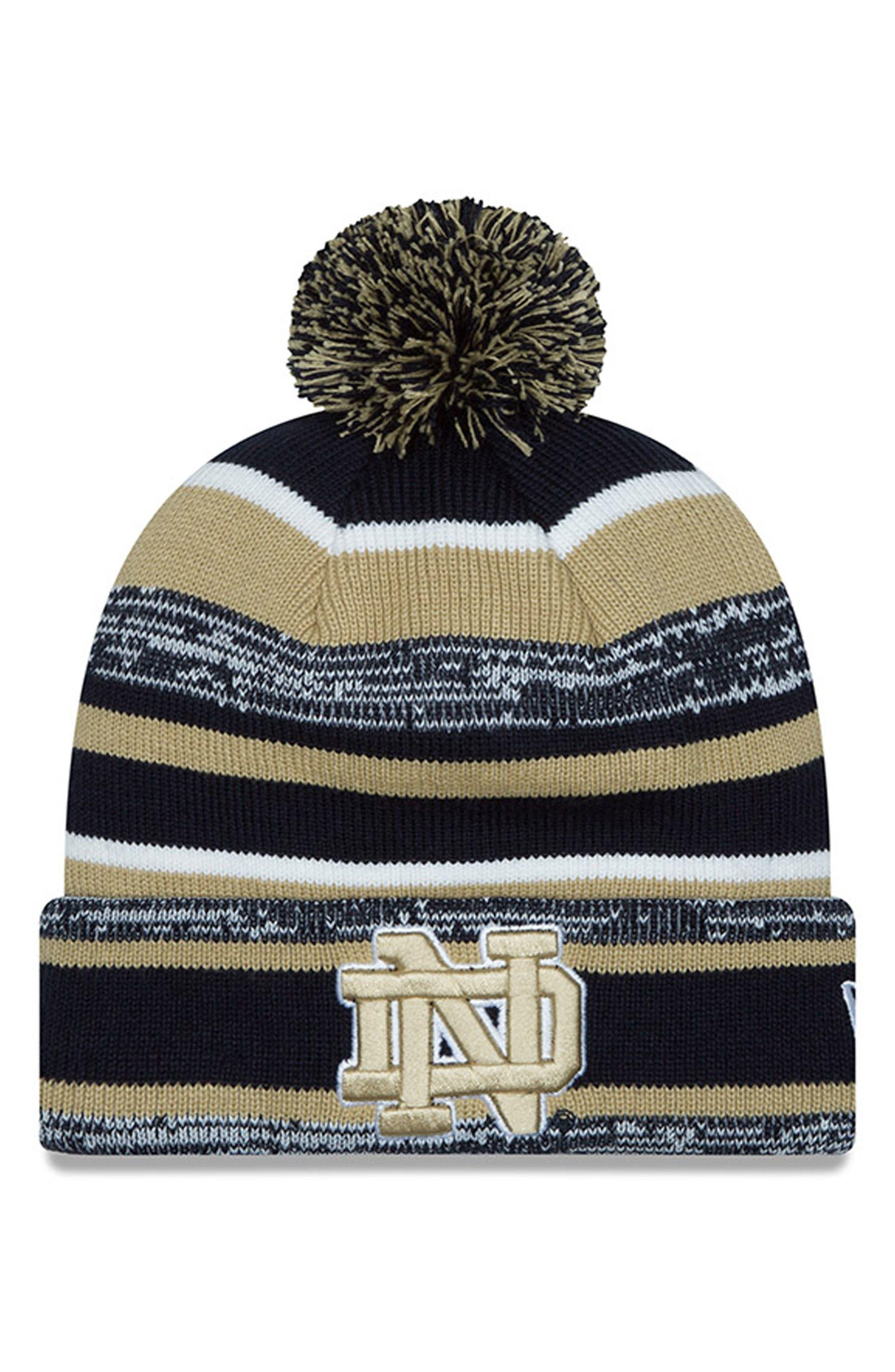 New Era Cap Collegiate Logo Knit Beanie