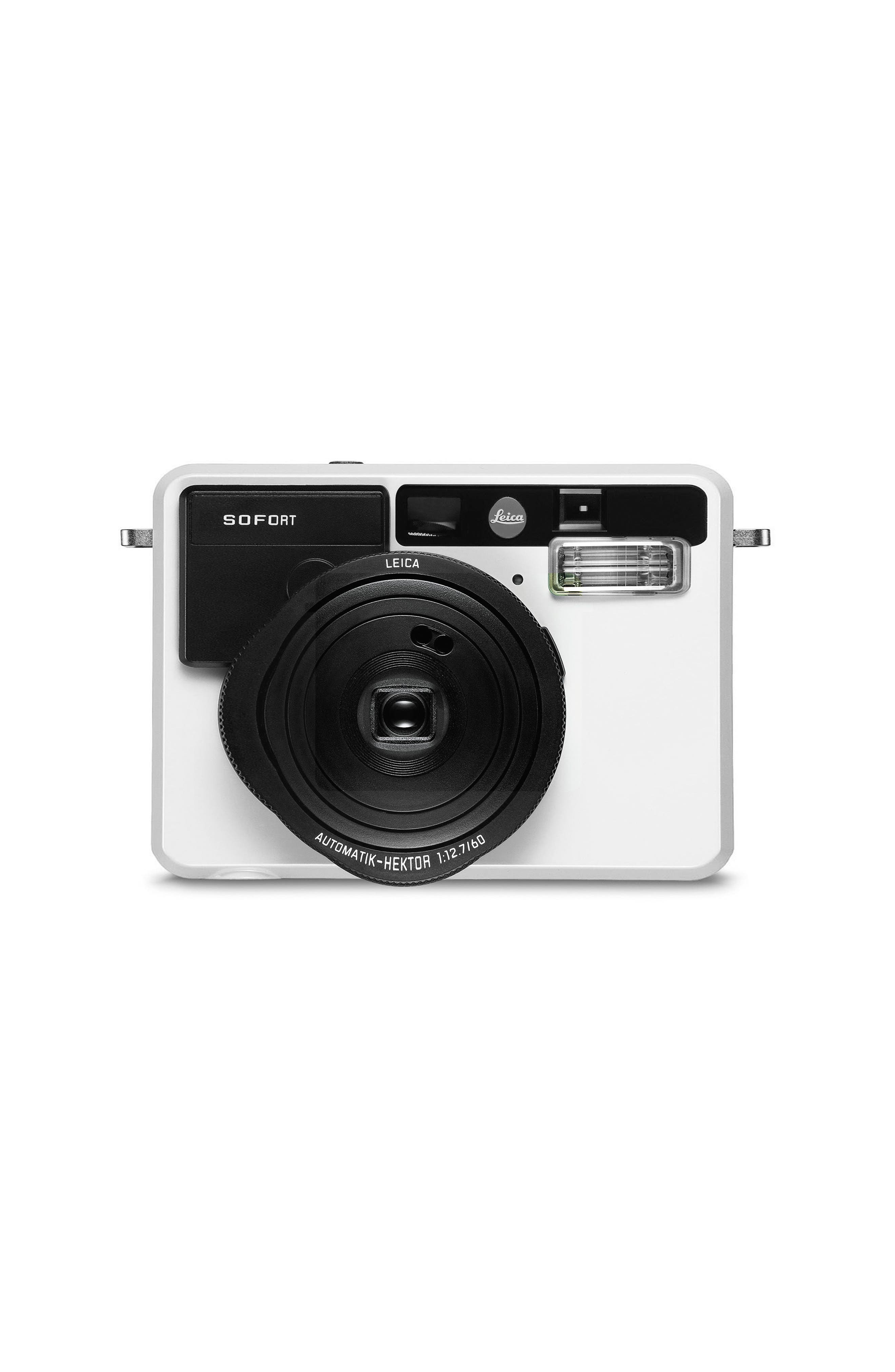 Sofort Compact Instant Camera,                             Main thumbnail 1, color,                             White