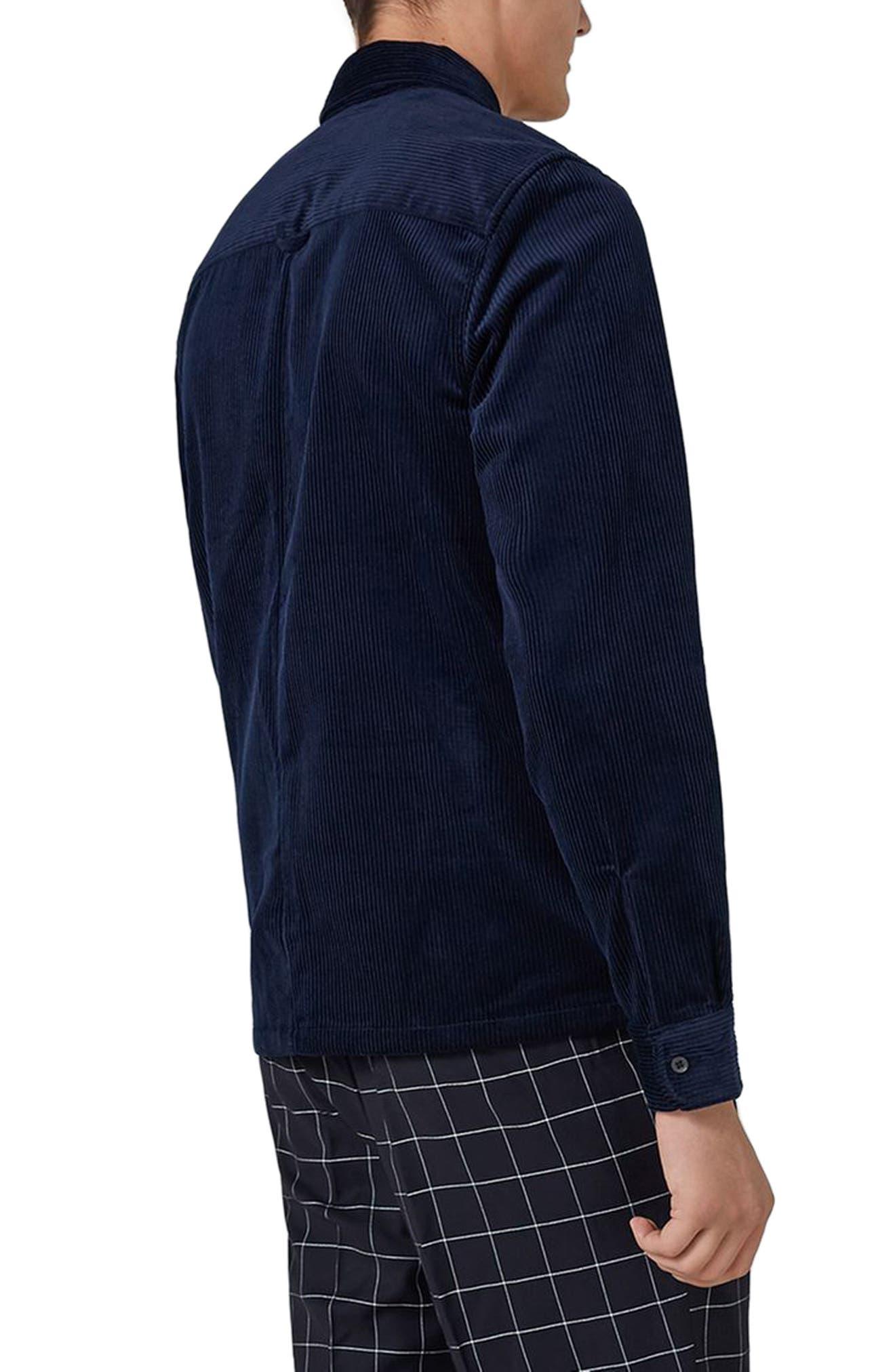 Alternate Image 2  - Topman Corduroy Shirt Jacket