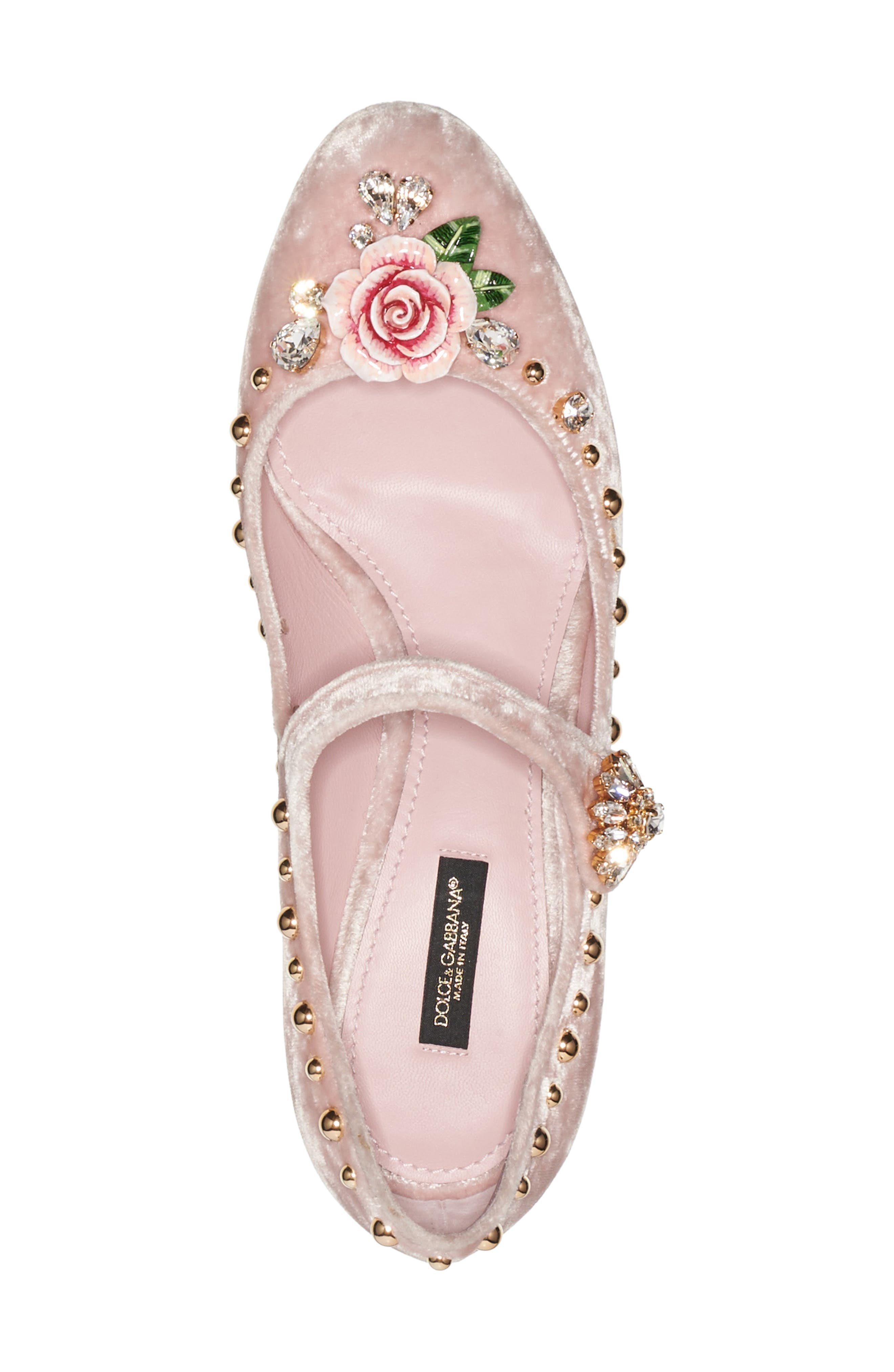 Rose Mary Jane Pump,                             Alternate thumbnail 3, color,                             Pink