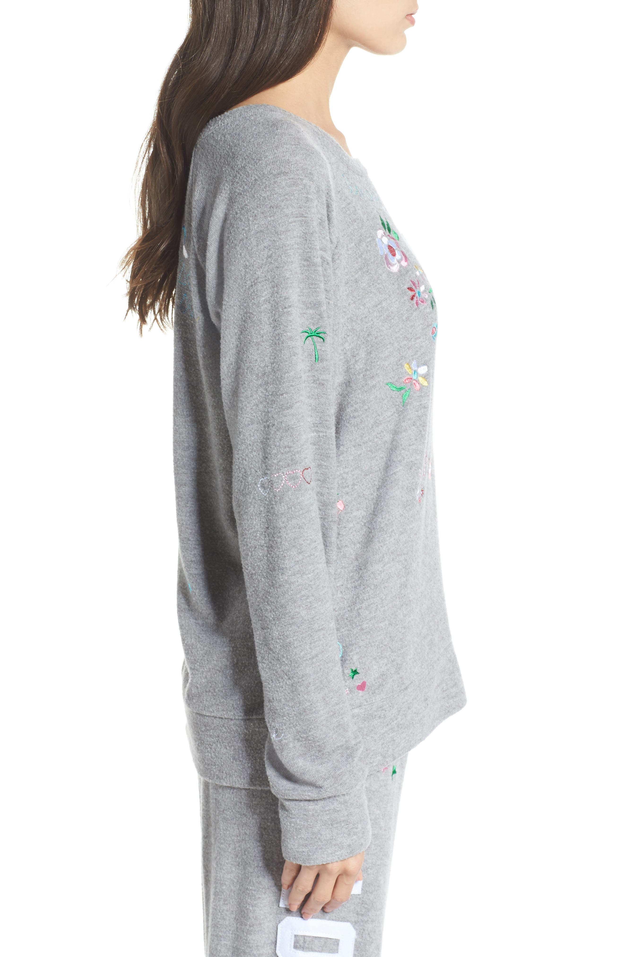 Alternate Image 3  - Chaser Patched Up Sweatshirt