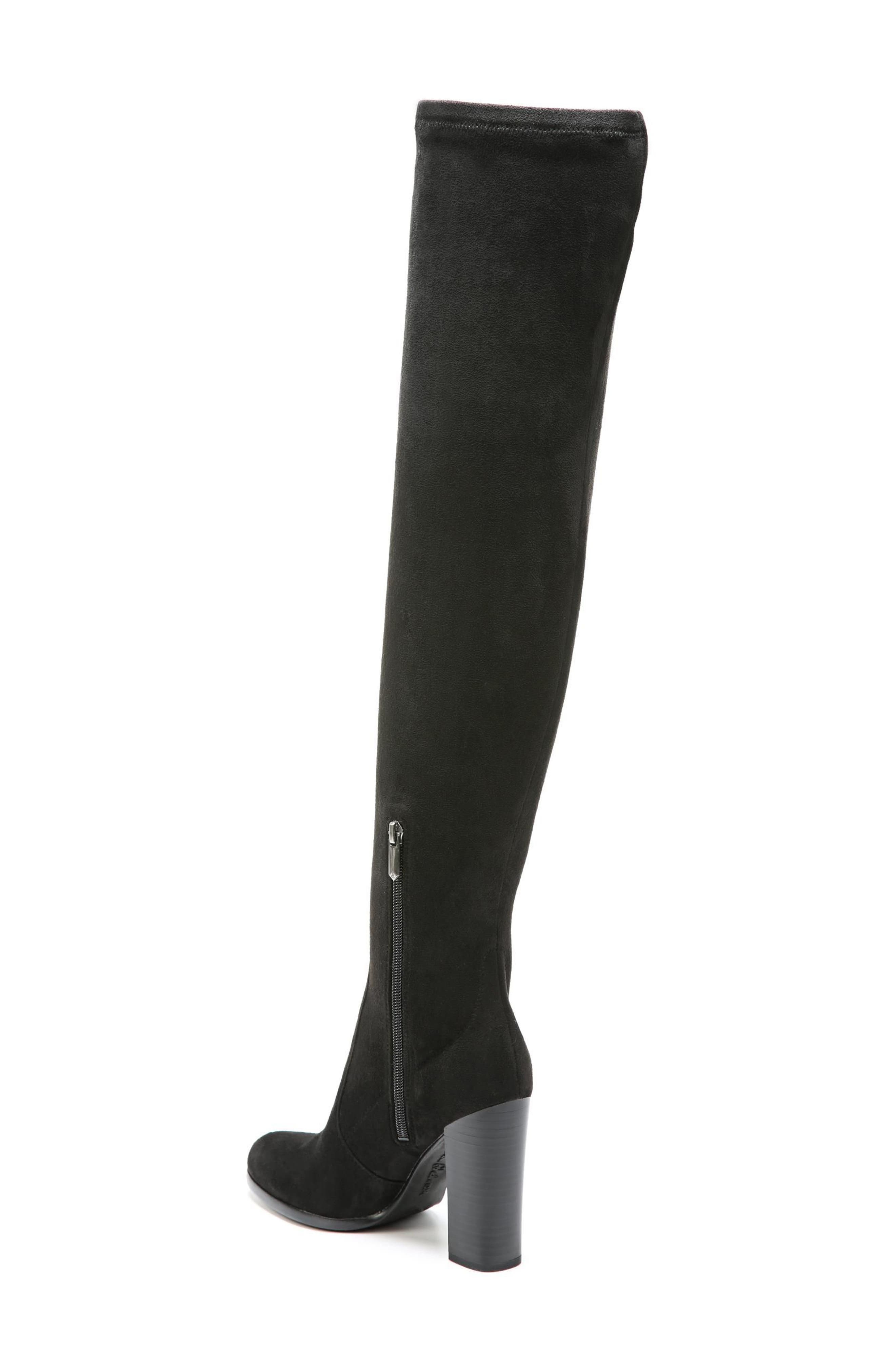 Vena 2 Over the Knee Boot,                             Alternate thumbnail 2, color,                             Black