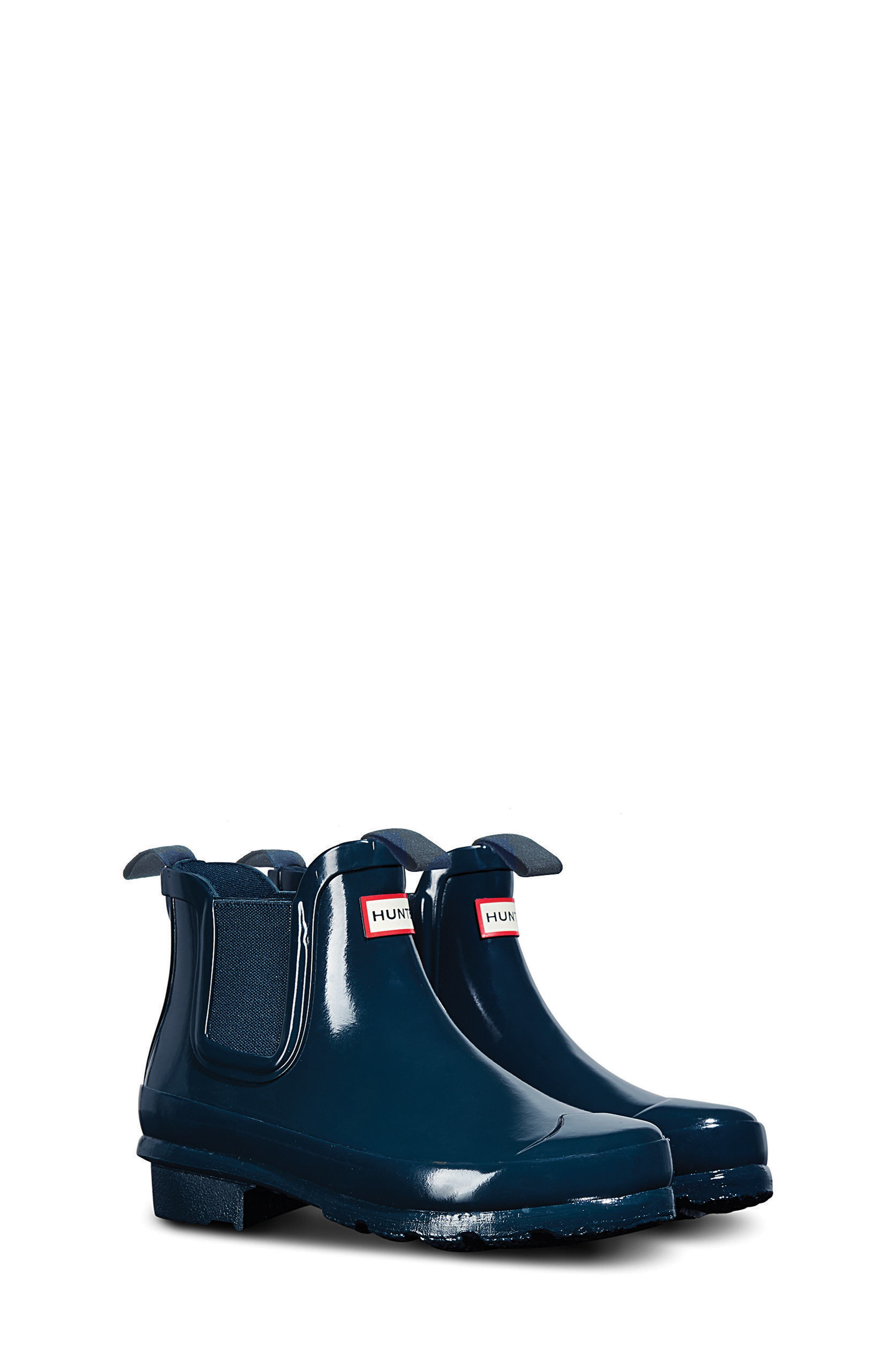 Hunter 'Original' Chelsea Rain Boot (Toddler)