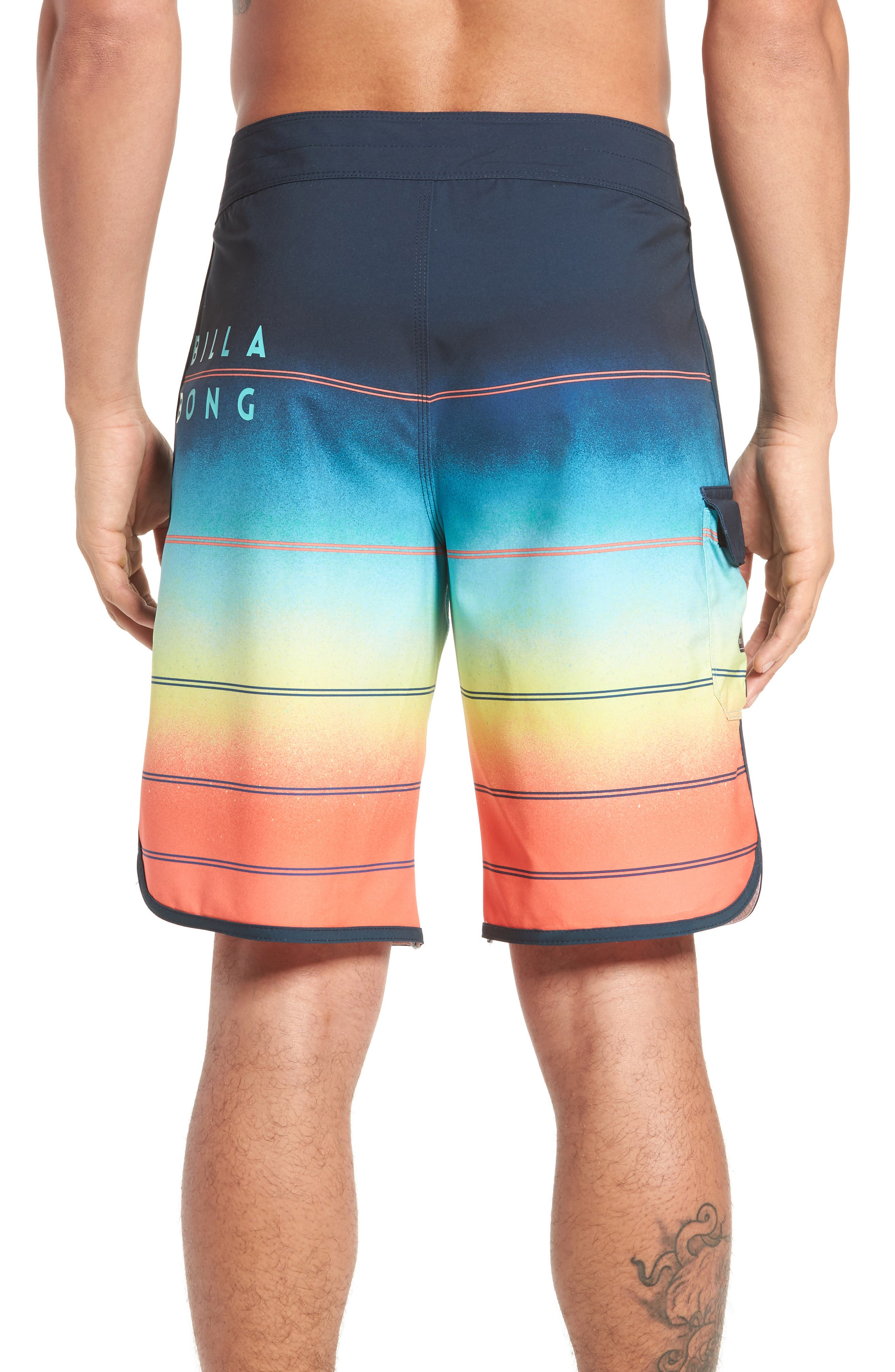 Alternate Image 2  - Billabong 73 X Stripe Board Shorts