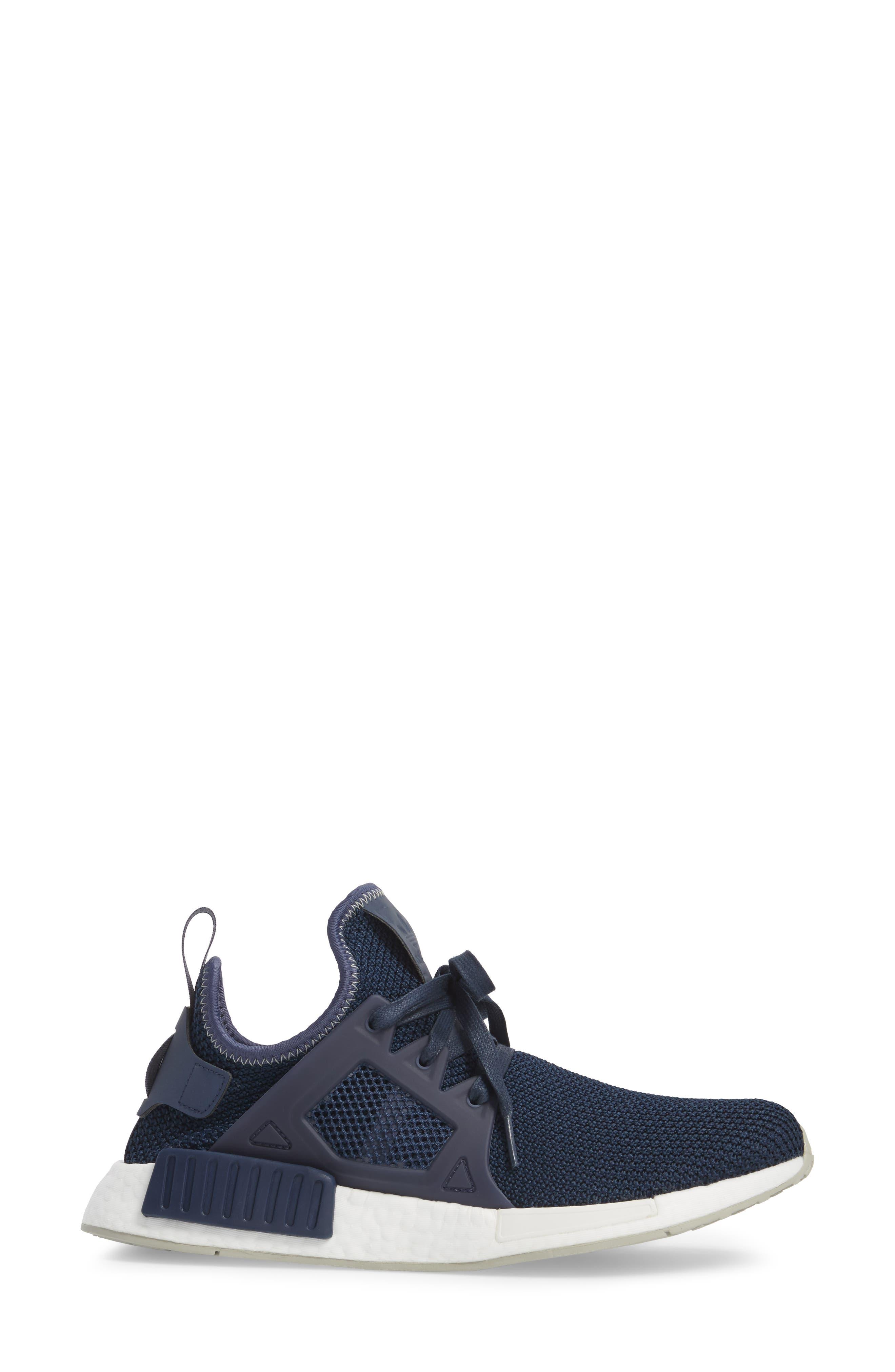 NMD XR1 Athletic Shoe,                             Alternate thumbnail 3, color,                             Trace Blue/ Sesame