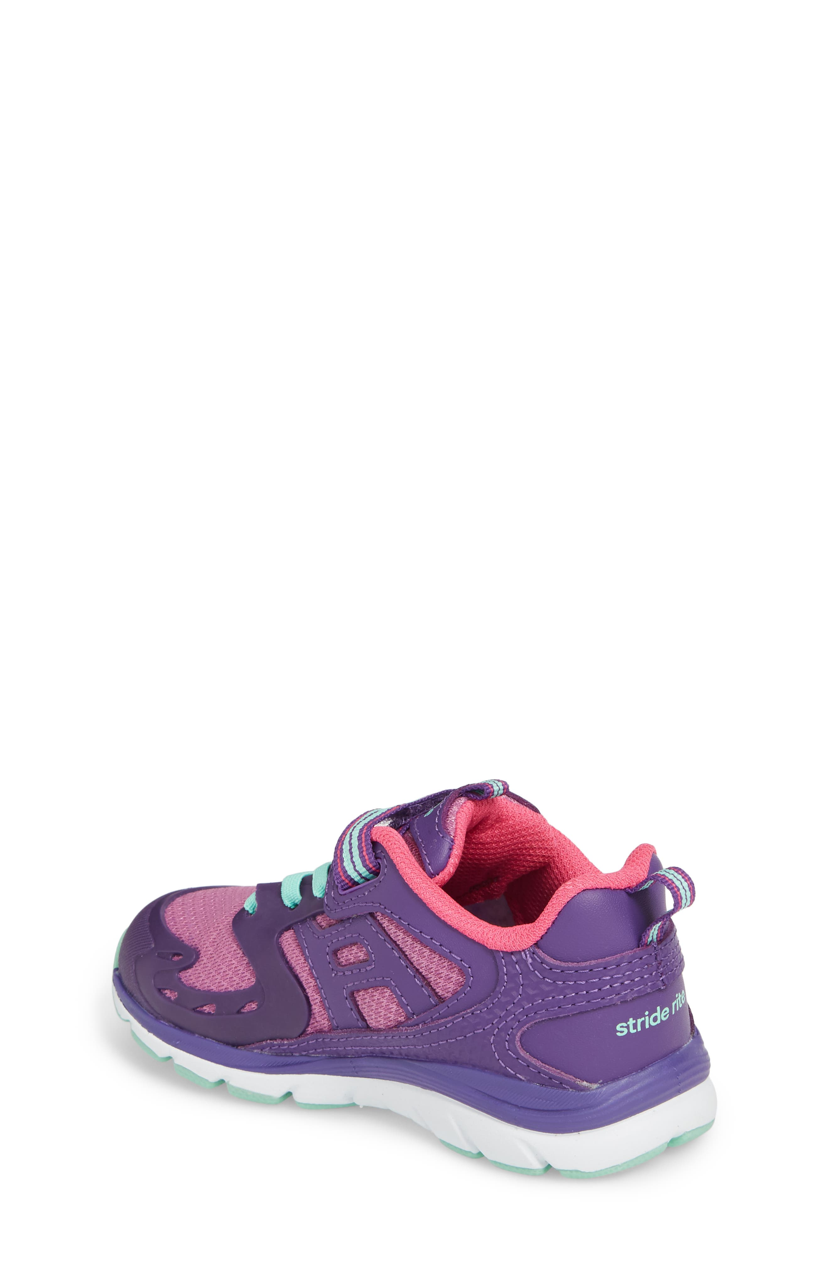 'Made2Play<sup>®</sup> Cannan Lace' Sneaker,                             Alternate thumbnail 2, color,                             Purple Leather/ Textile