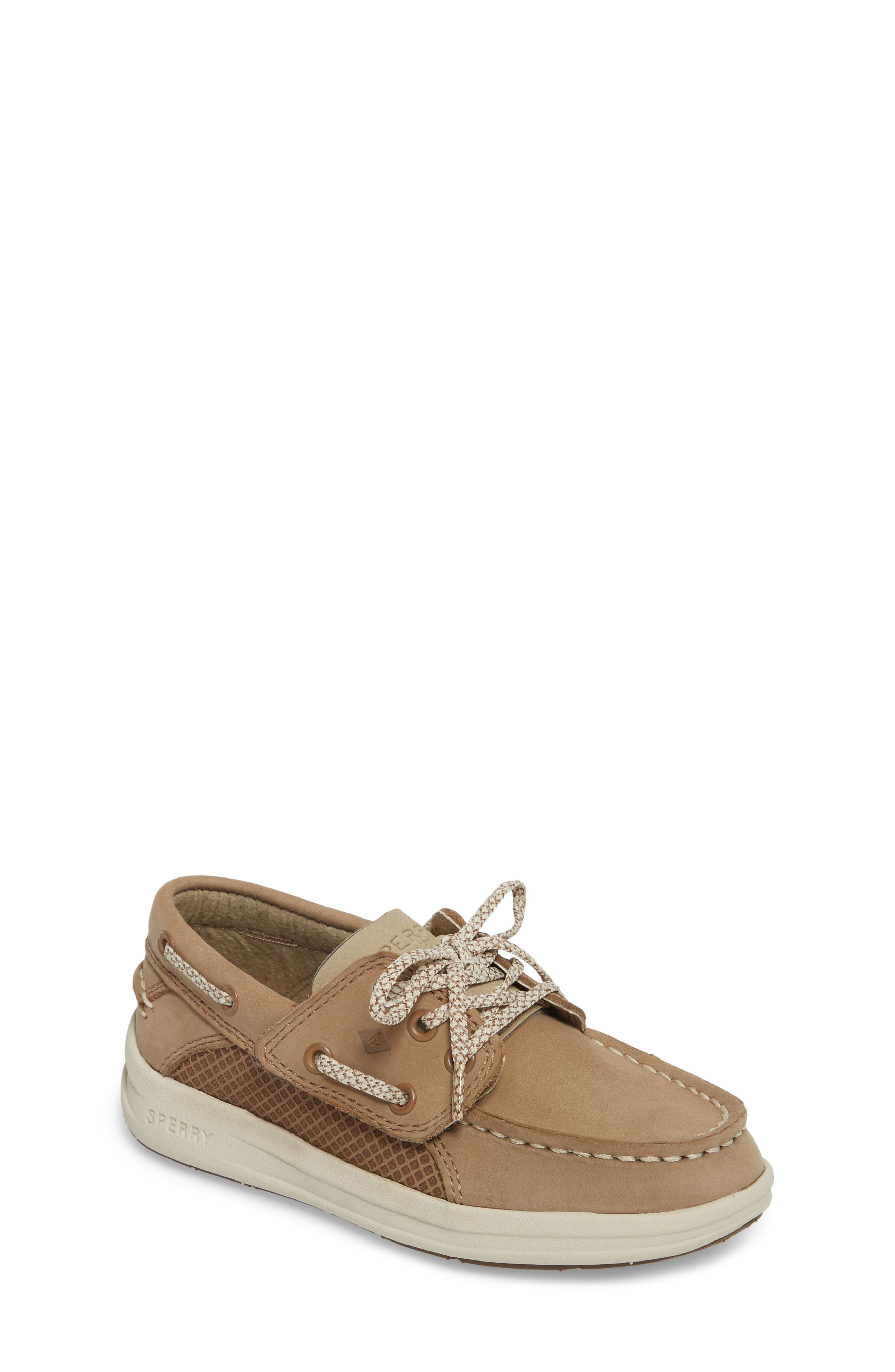 Main Image - Sperry Kids Gamefish Boat Shoe (Walker & Toddler)