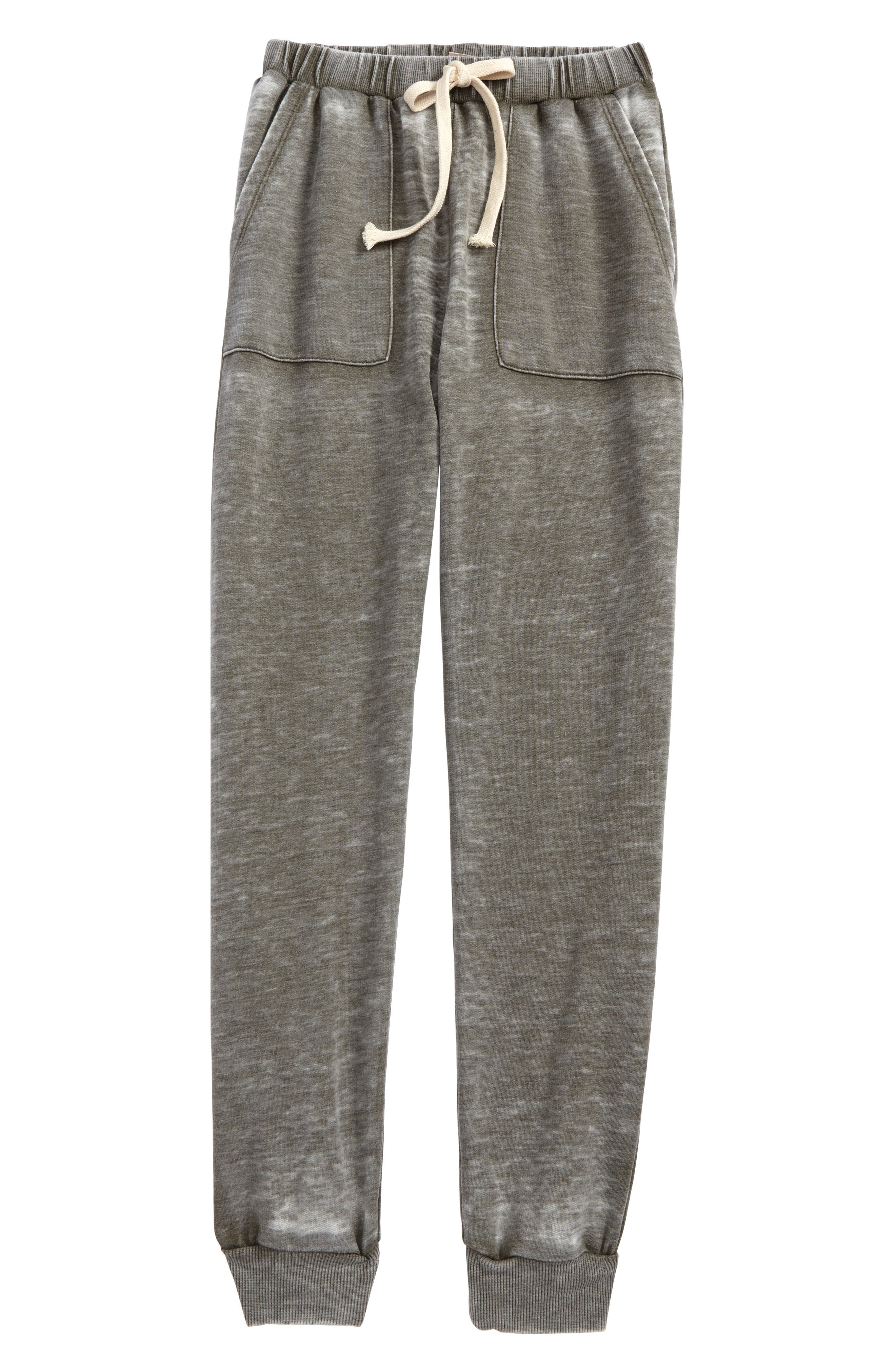 For All Seasons Distressed Sweatpants (Big Girls)
