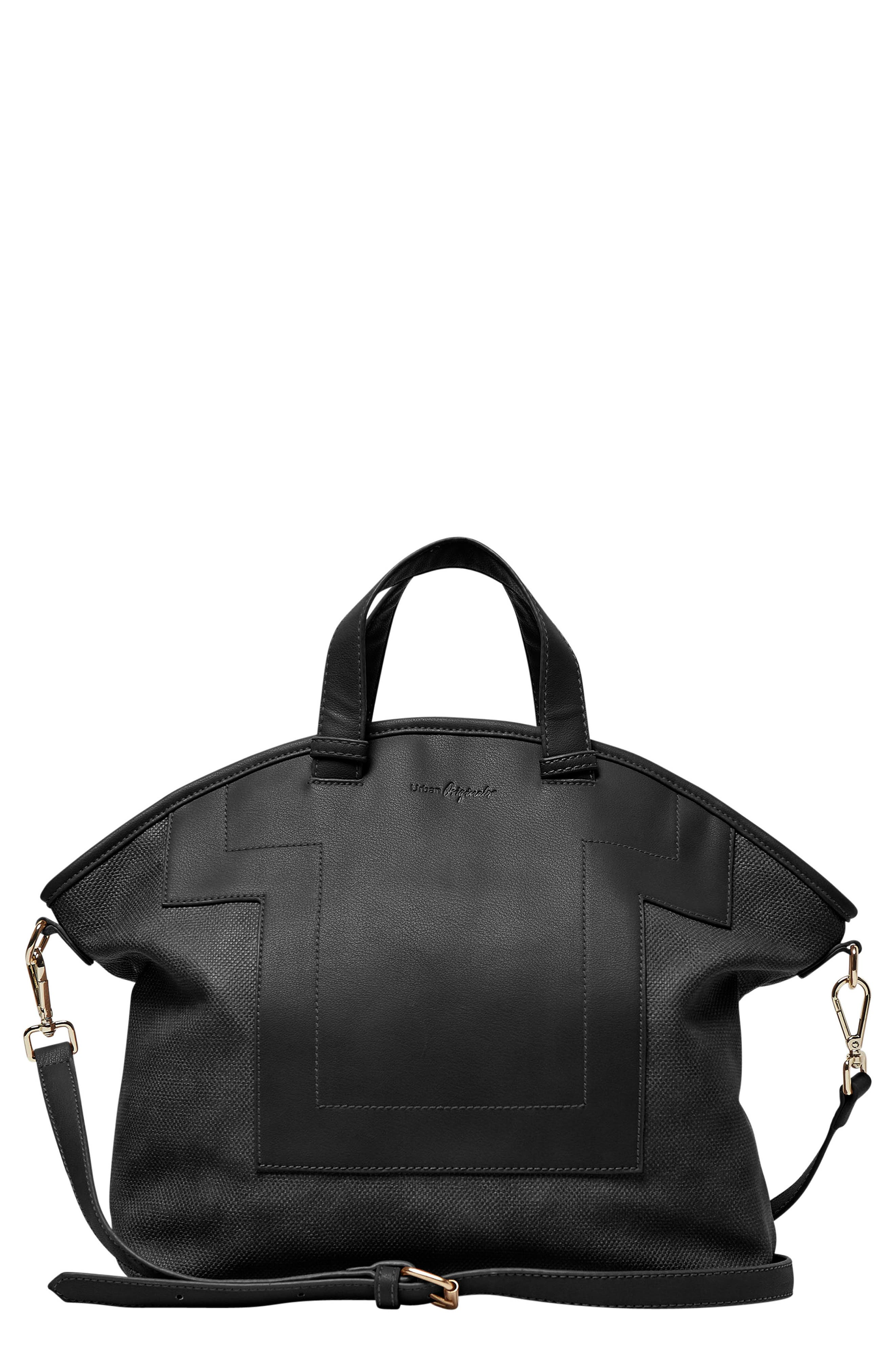 Alternate Image 1 Selected - Urban Originals Break Away Vegan Leather Tote