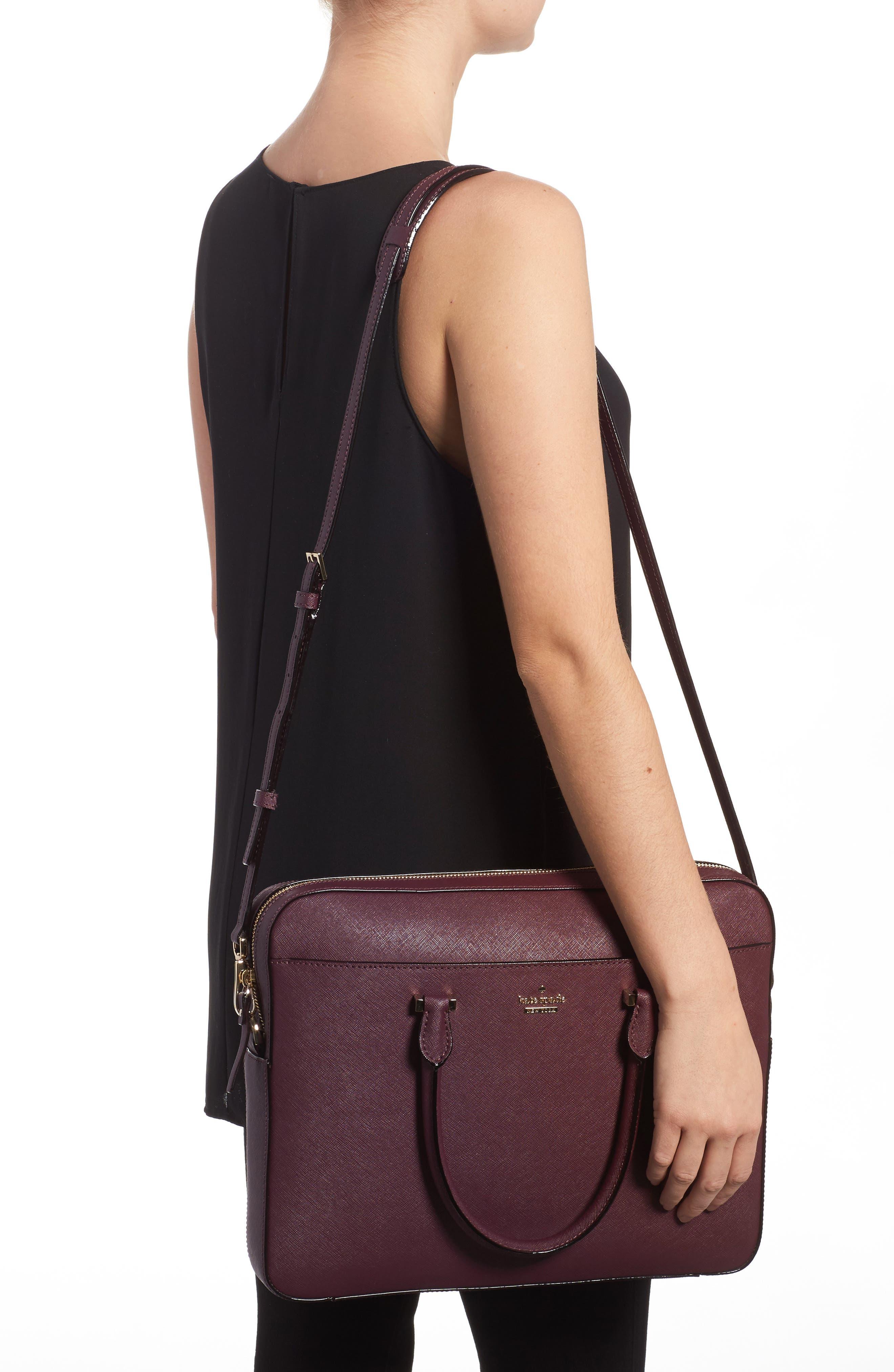 Alternate Image 2  - kate spade new york saffiano leather laptop bag