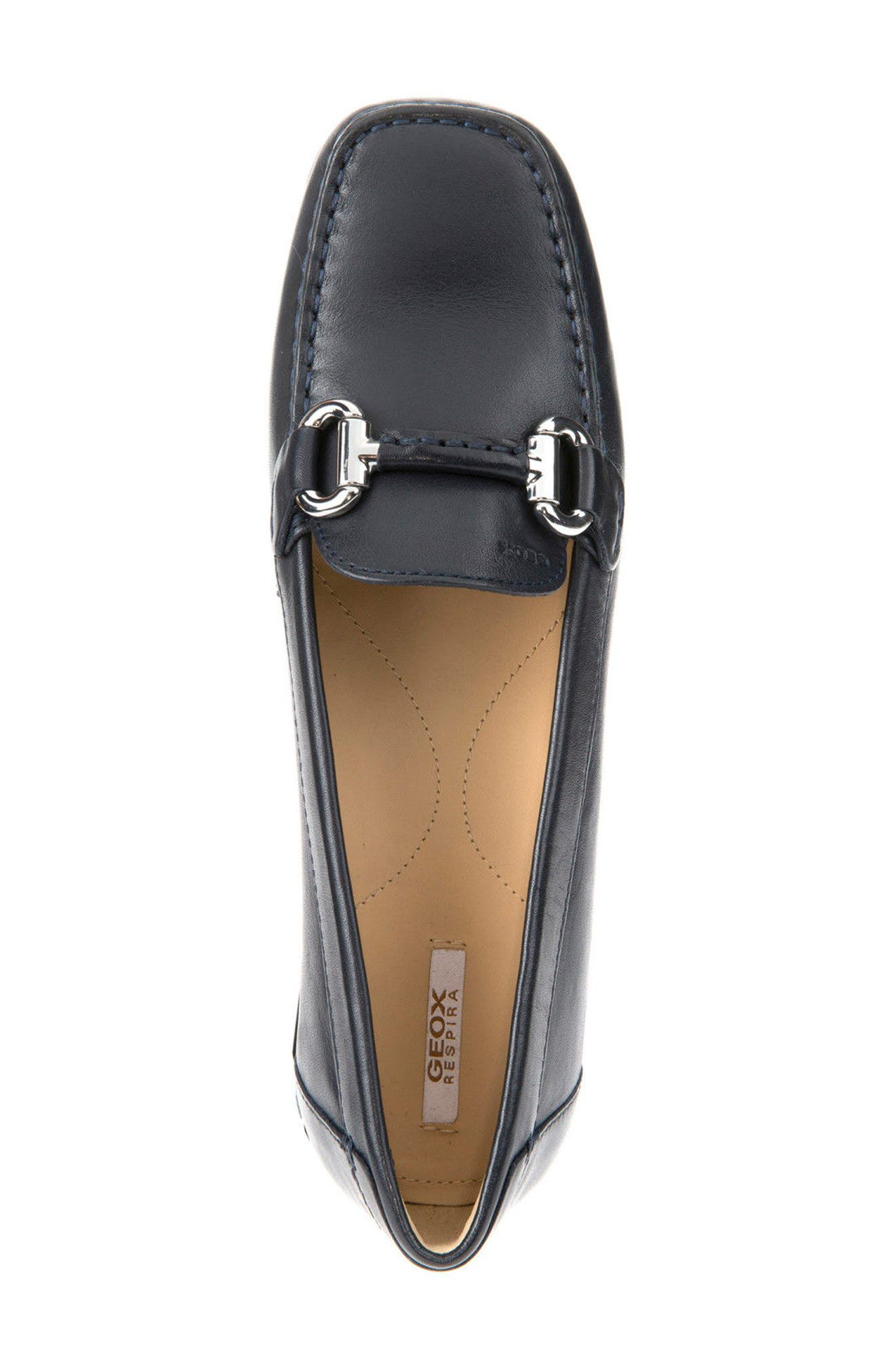 Alternate Image 5  - Geox Euro 67 Loafer (Women)