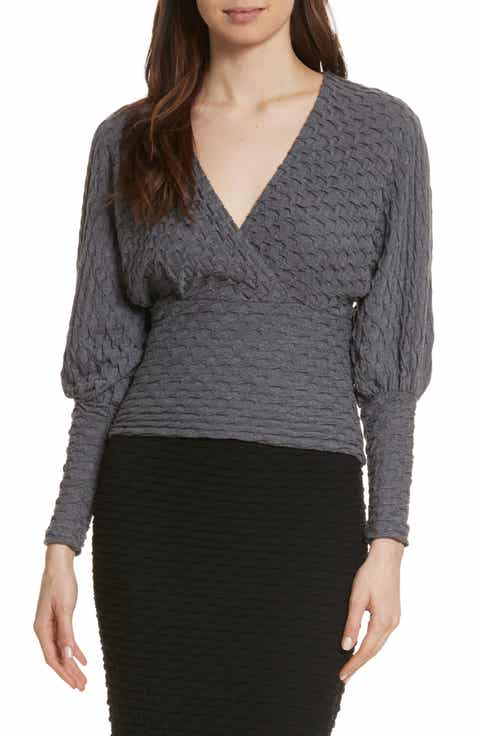 Tracy Reese Surplice Sweater