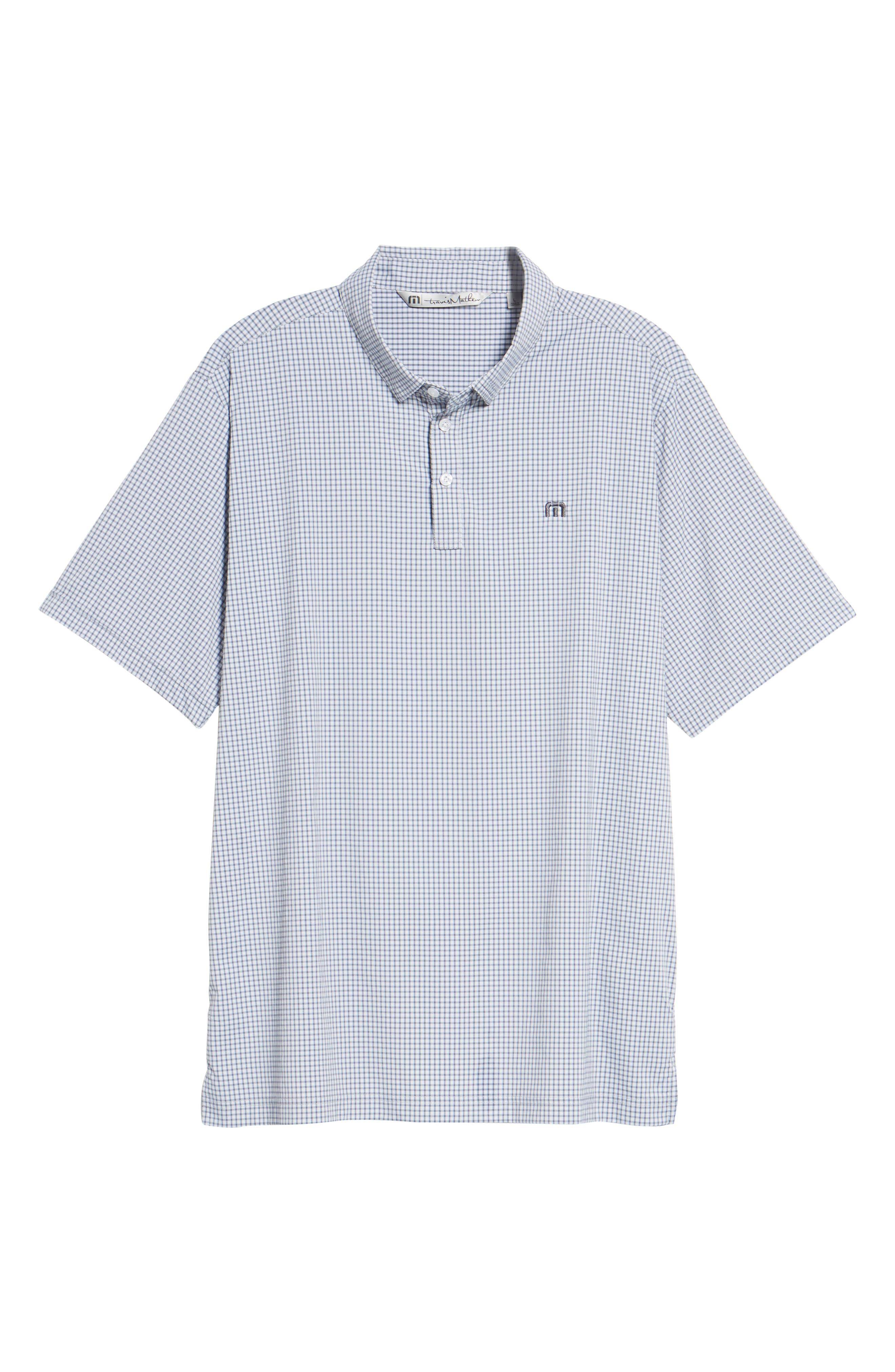 Zim Polo,                             Alternate thumbnail 6, color,                             White/ Grisaille