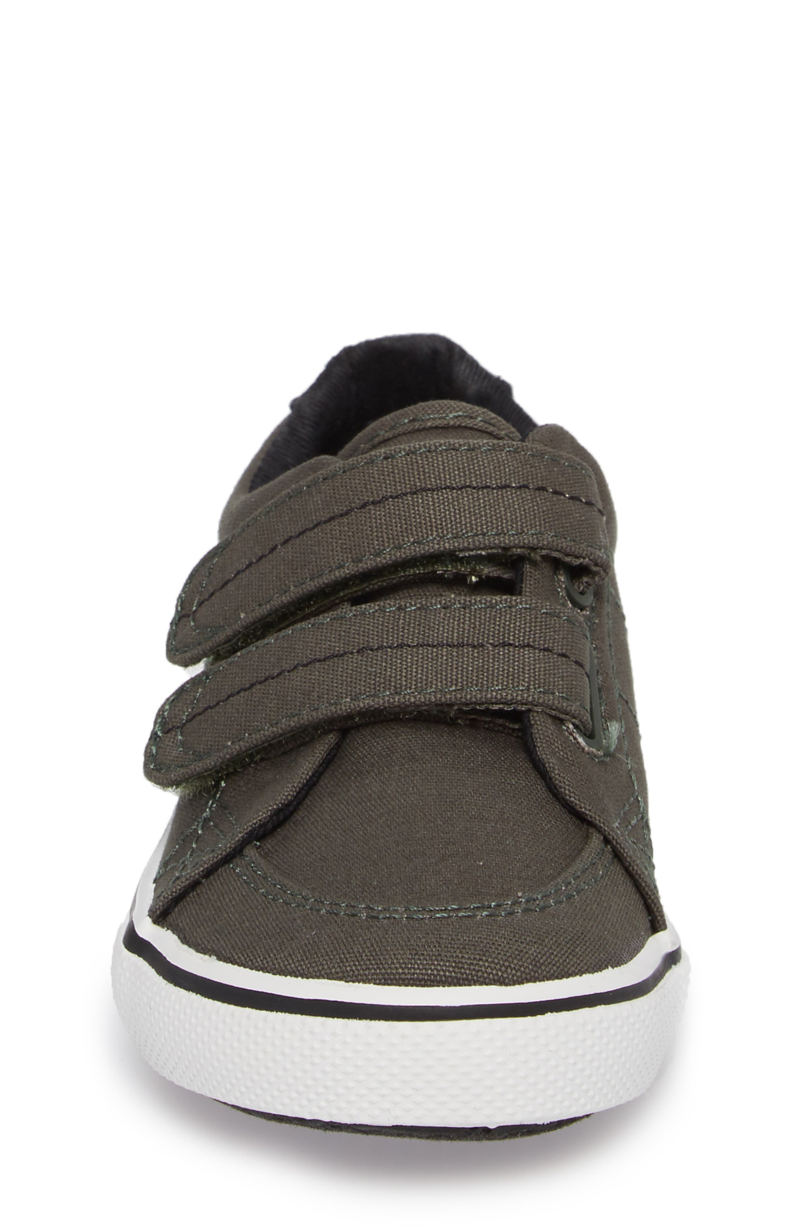 Sperry Top-Sider<sup>®</sup> Kids 'Halyard' Sneaker,                             Alternate thumbnail 4, color,                             Olive