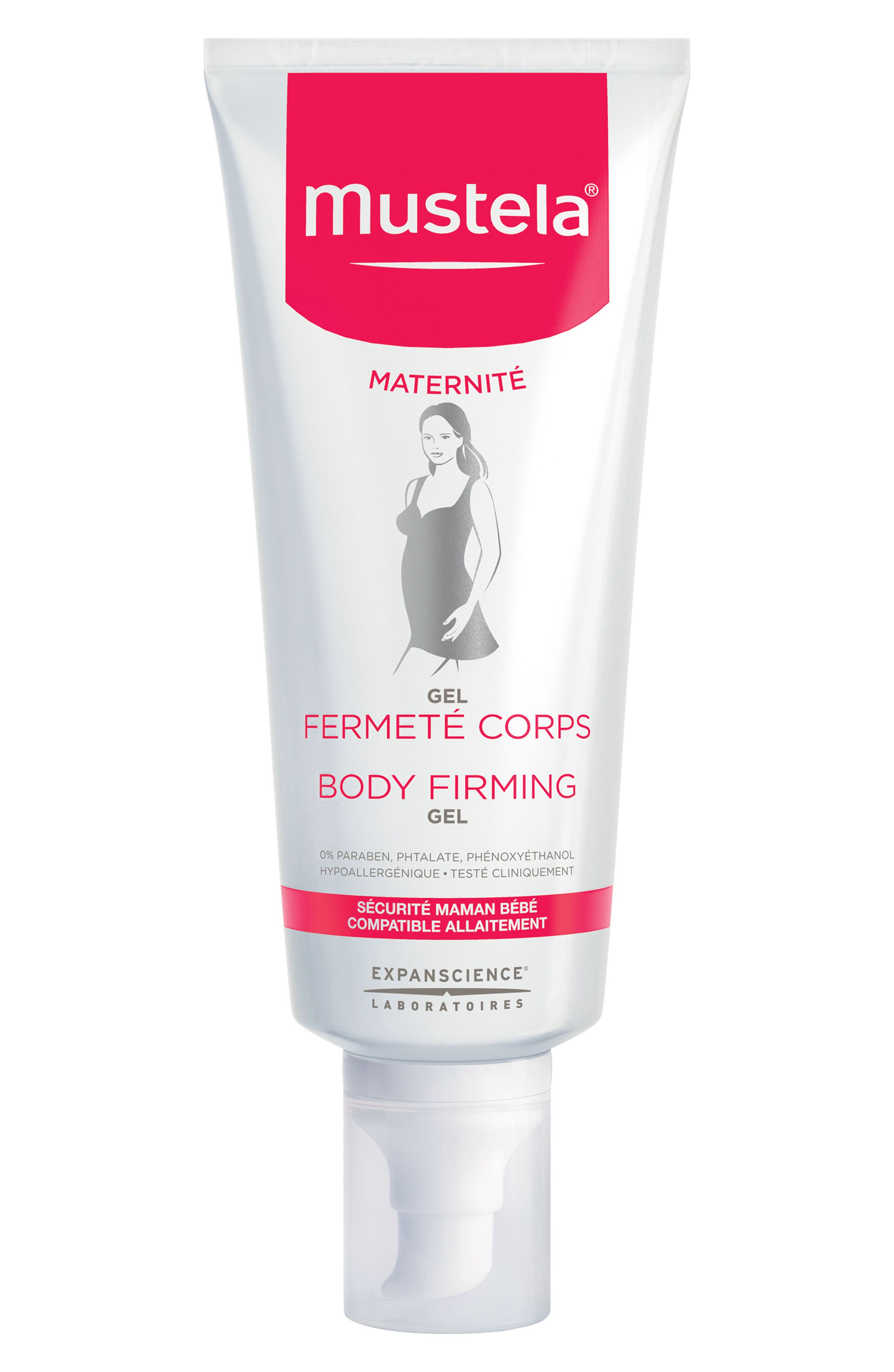 Body Firming Gel,                             Main thumbnail 1, color,                             White