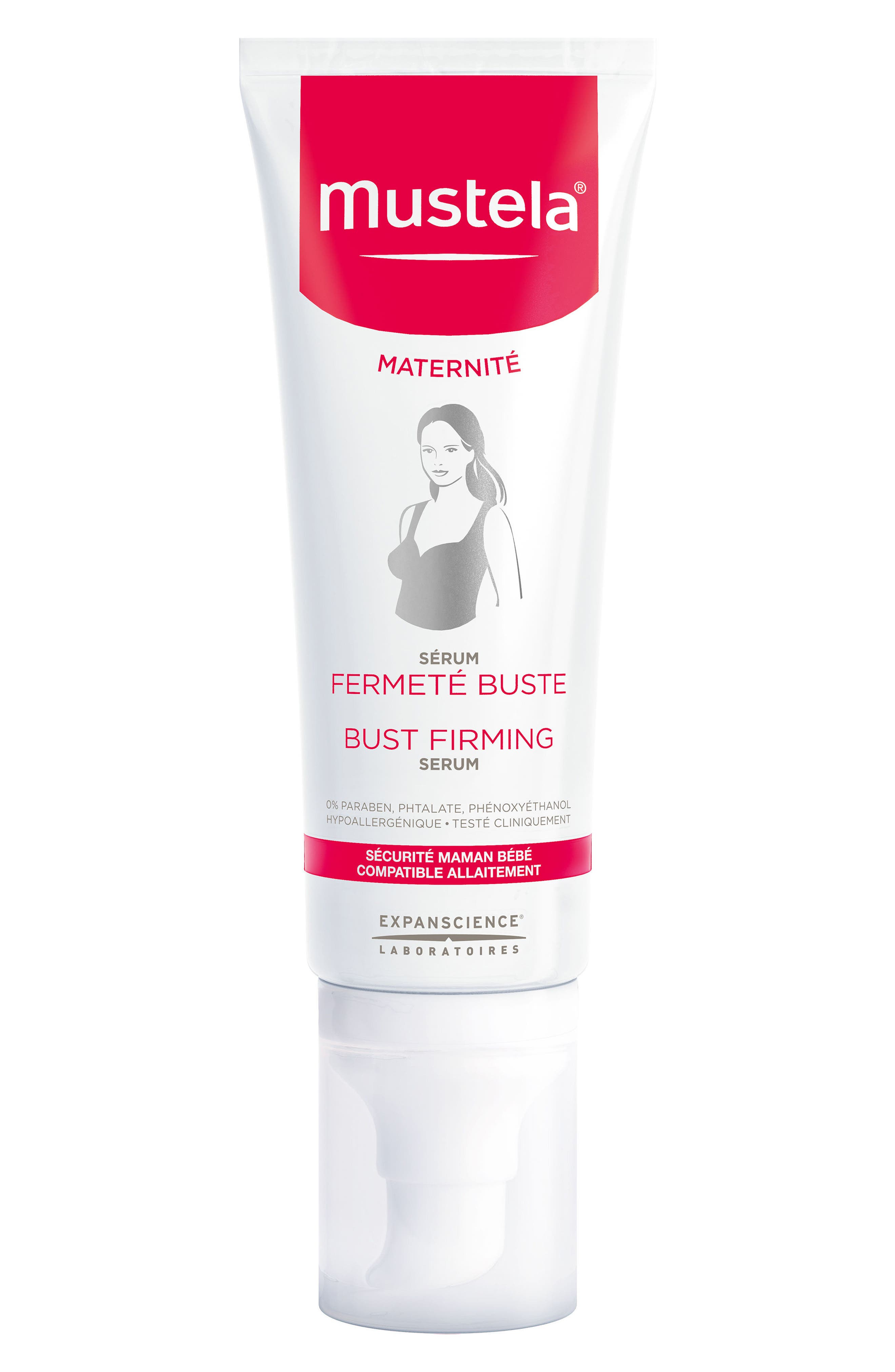 Bust Firming Serum,                         Main,                         color, White