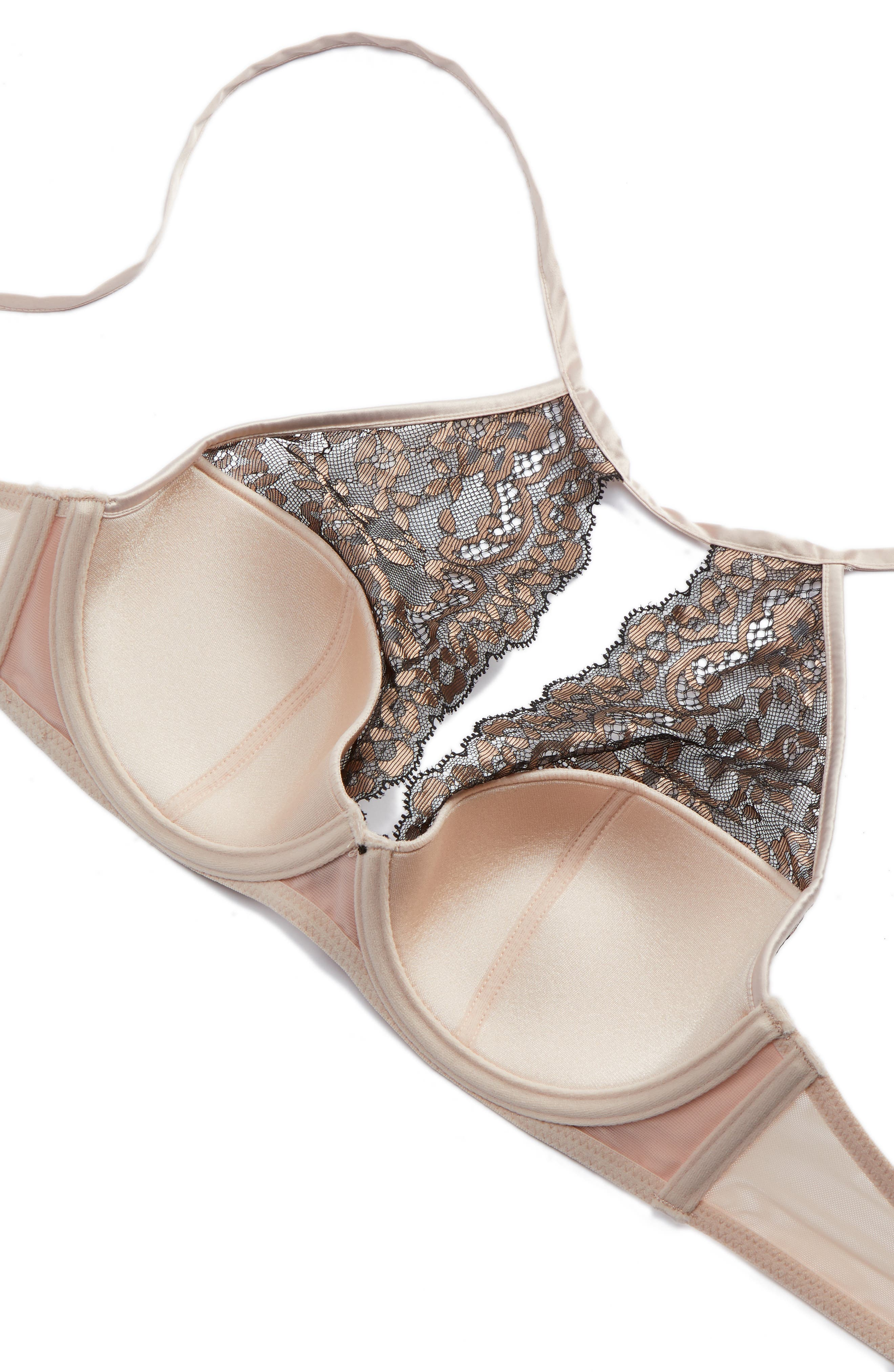 Alternate Image 5  - Boux Avenue Annie Underwire Lace Halter Bra