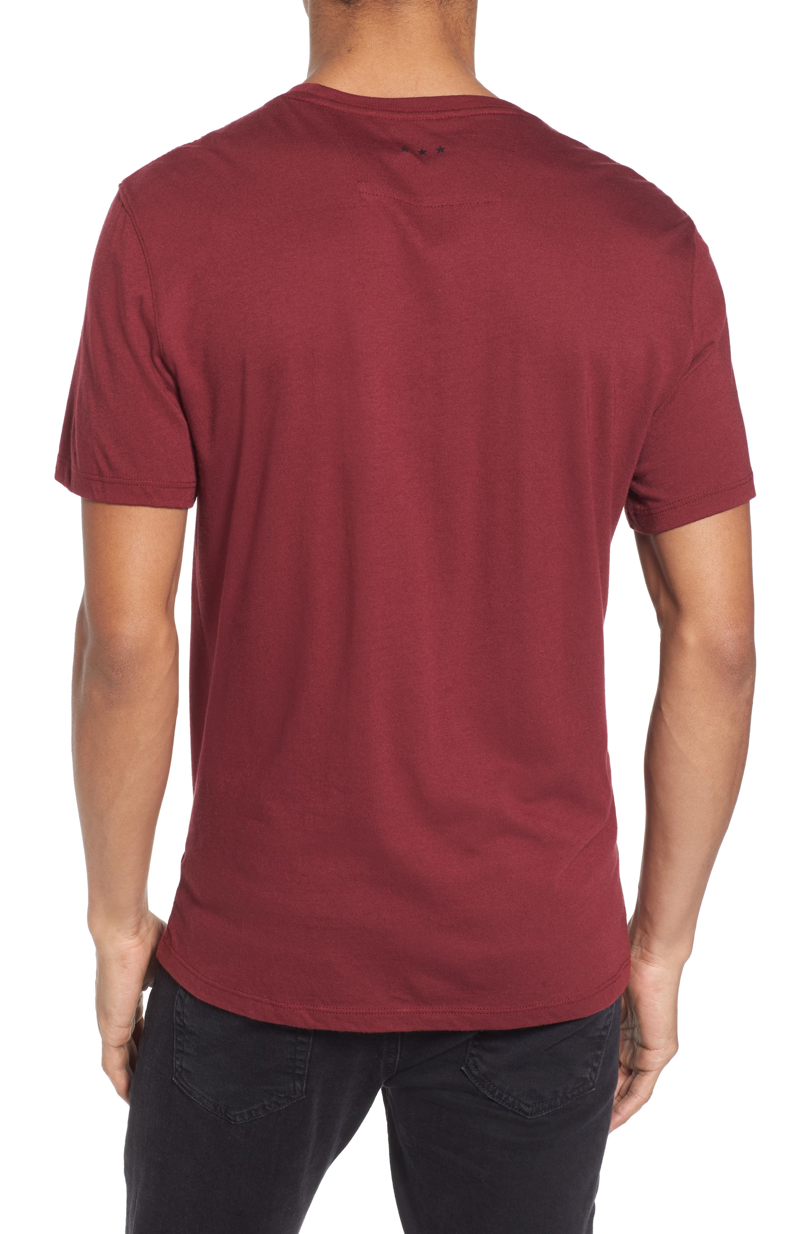 Revolution Graphic T-Shirt,                             Alternate thumbnail 2, color,                             Oxblood
