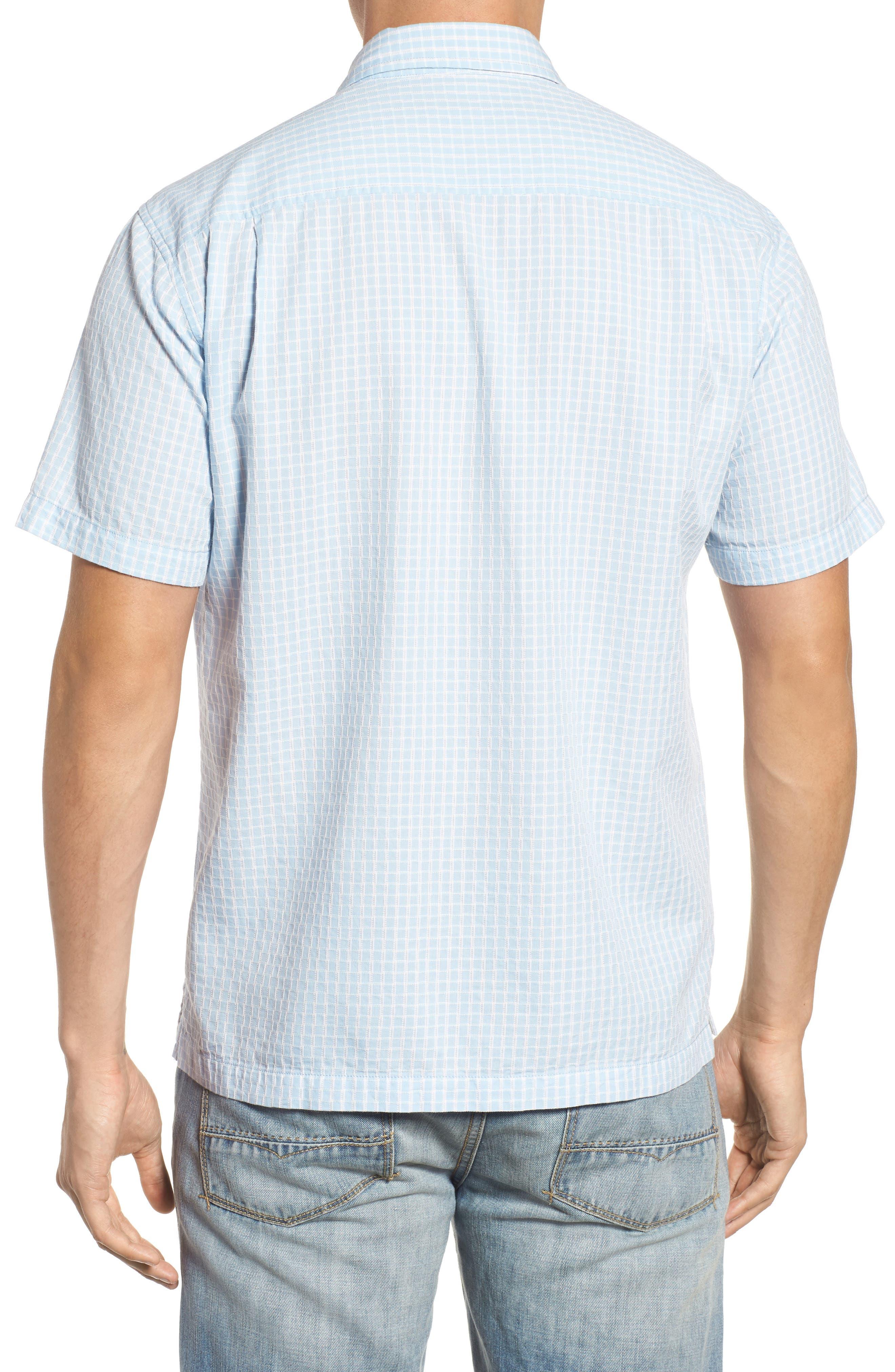 Once in a Tile Regular Fit Sport Shirt,                             Alternate thumbnail 2, color,                             Opal