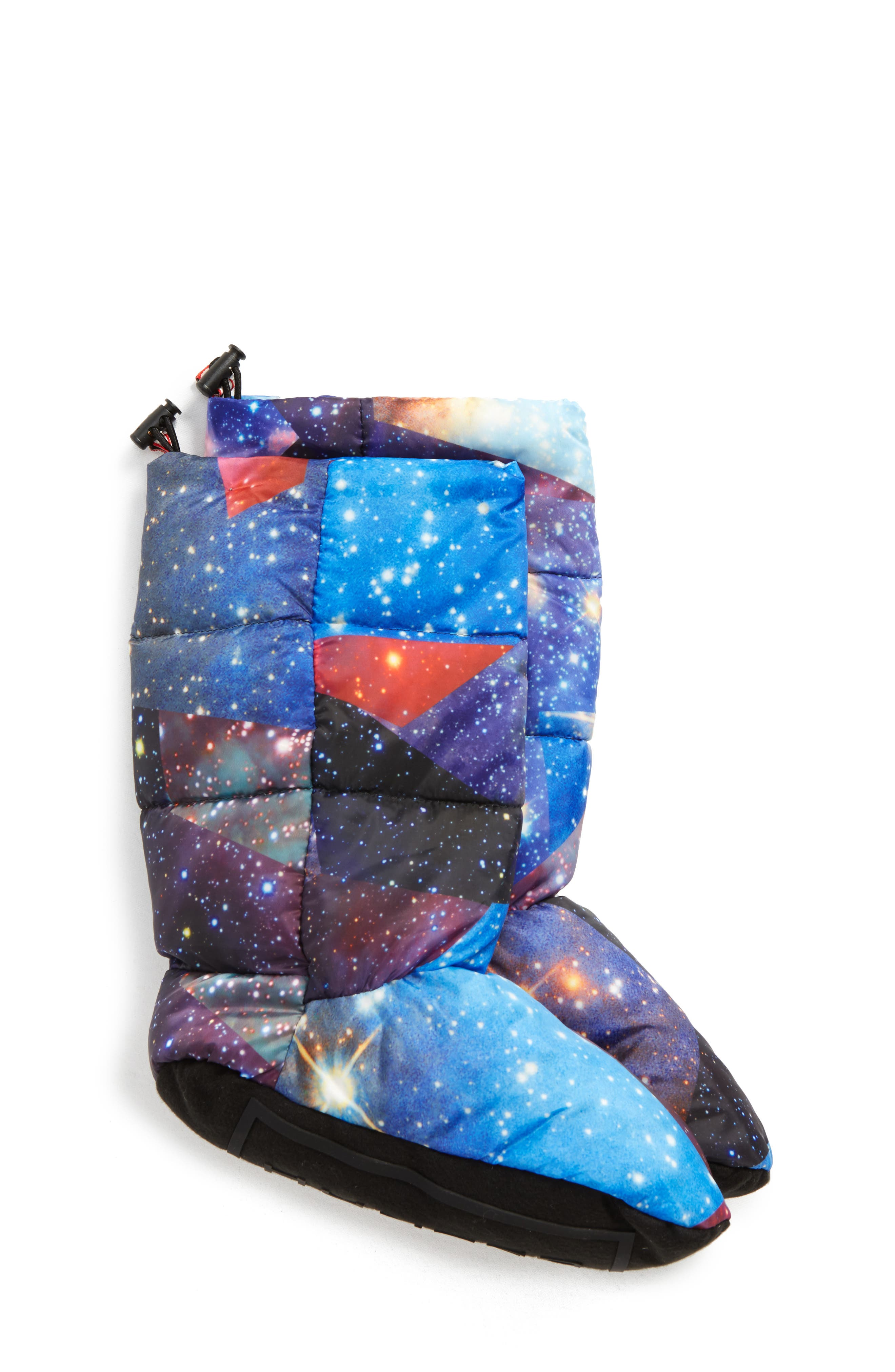 Down Insulated Boot Socks,                         Main,                         color, Space Camo