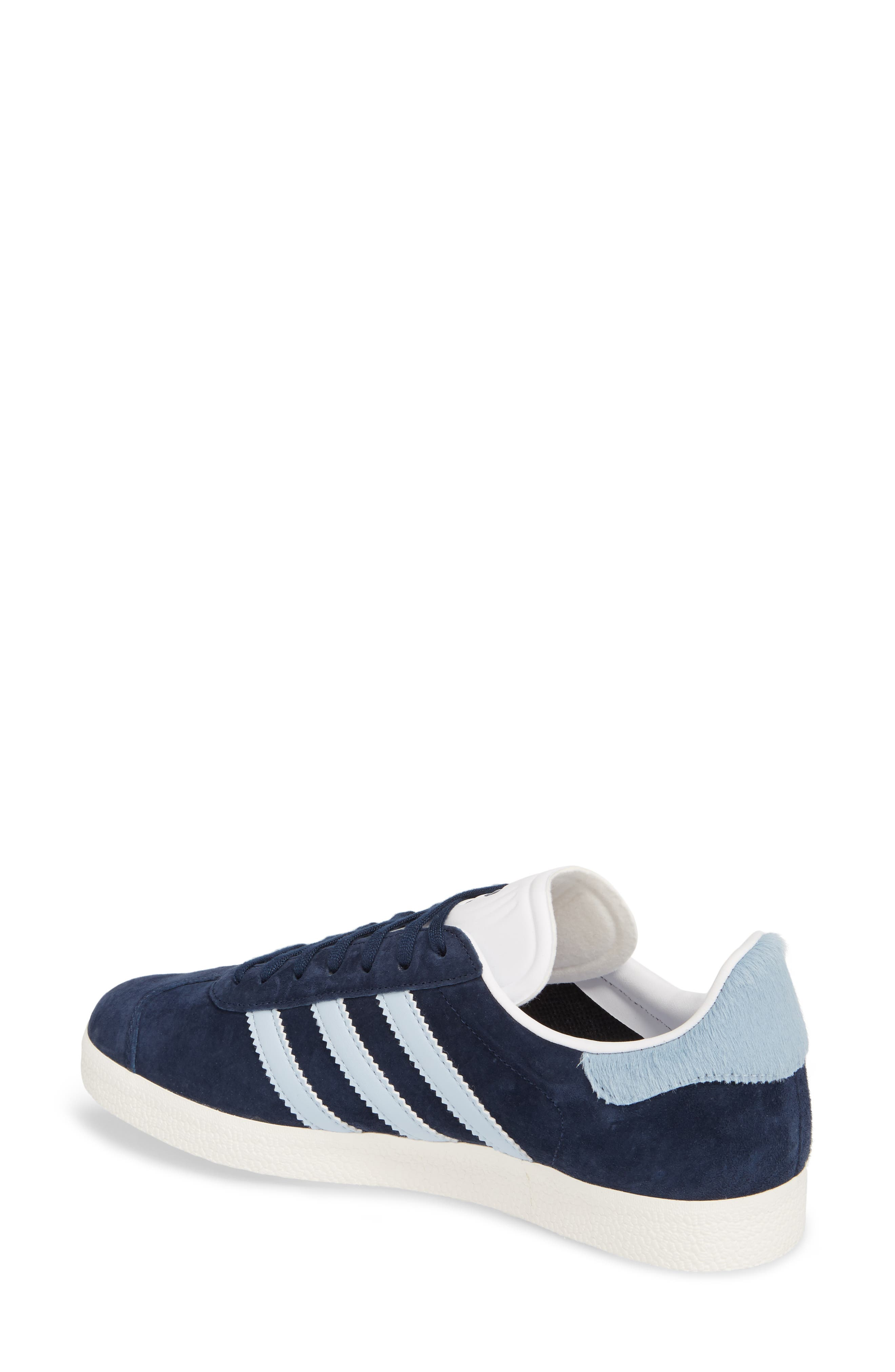 Gazelle Sneaker,                             Alternate thumbnail 2, color,                             Navy/ Easy Blue/ White
