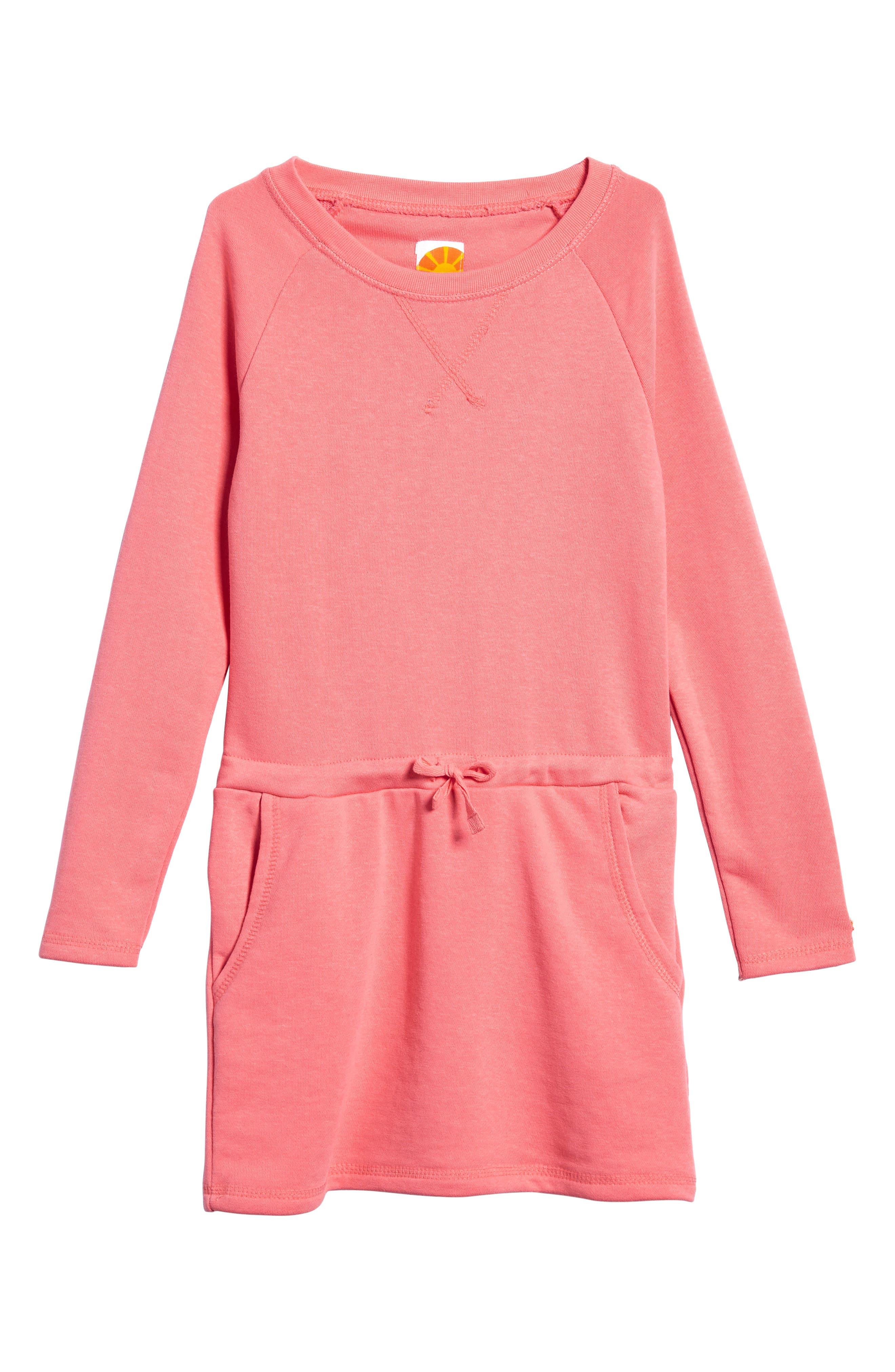 Alternate Image 1 Selected - C & C California Sweatshirt Dress (Big Girls)