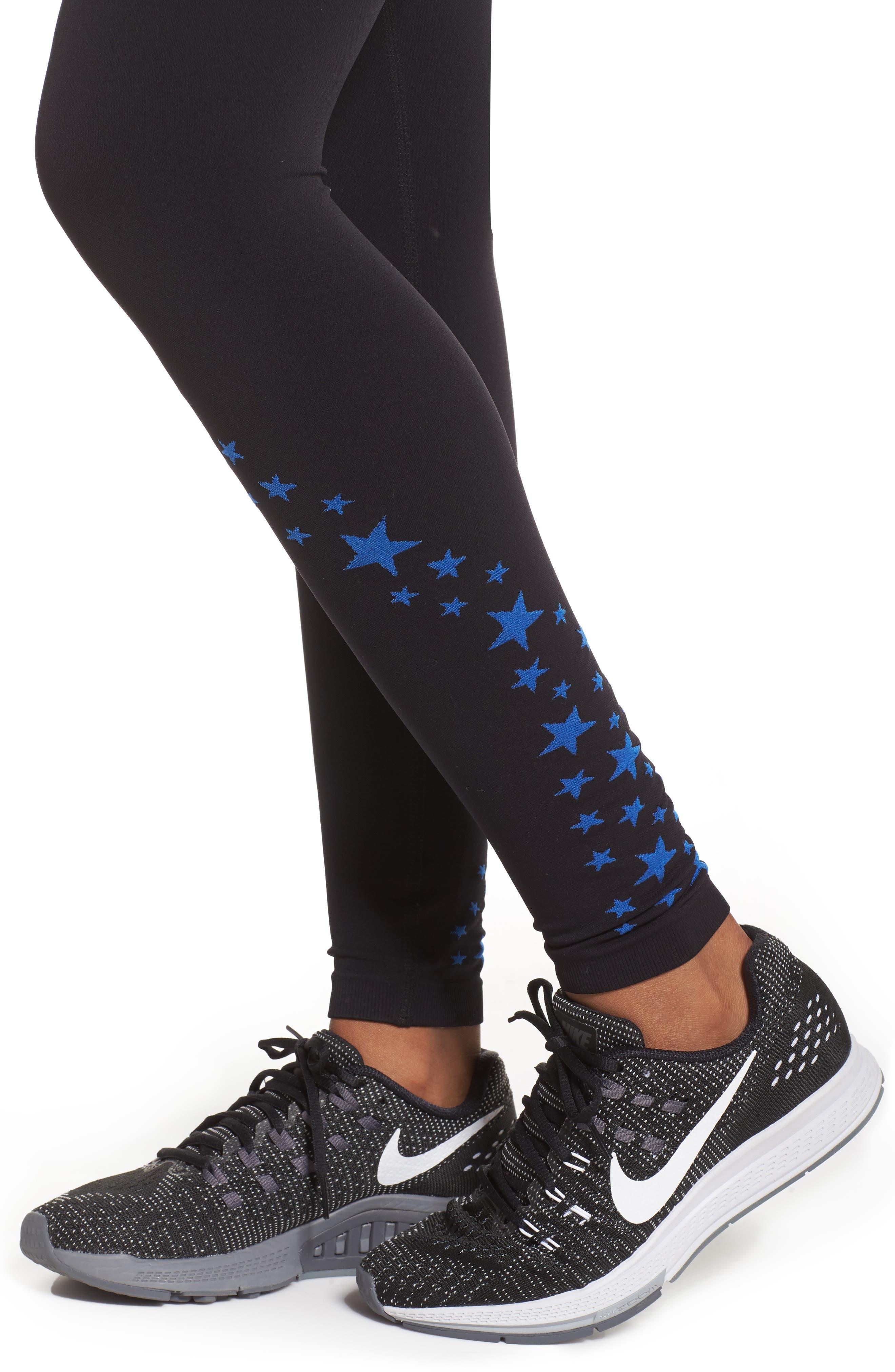 Alternate Image 4  - BoomBoom Athletica Seamless Star Leggings