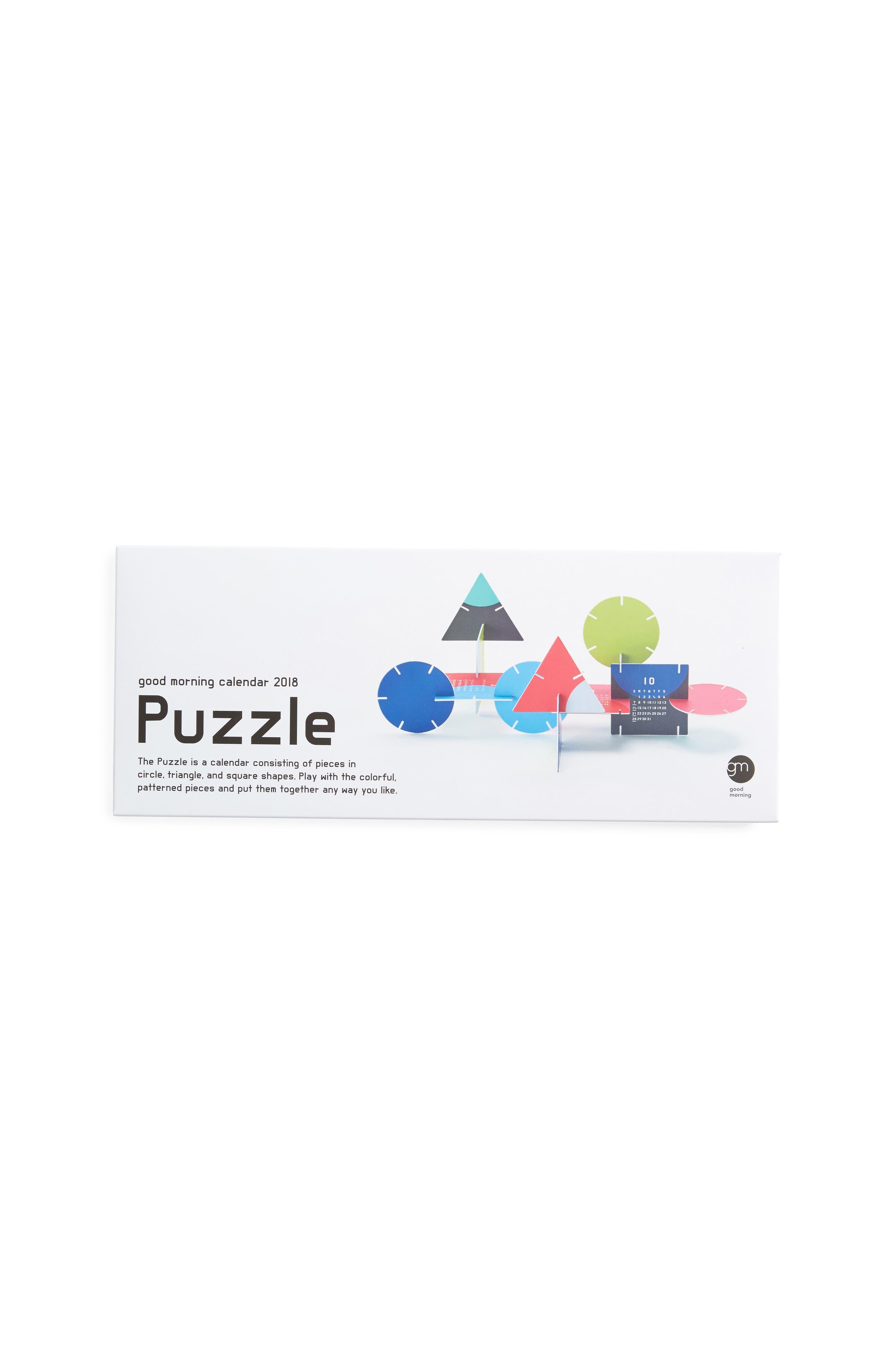 MoMA Design Store 2018 3D Puzzle Calendar