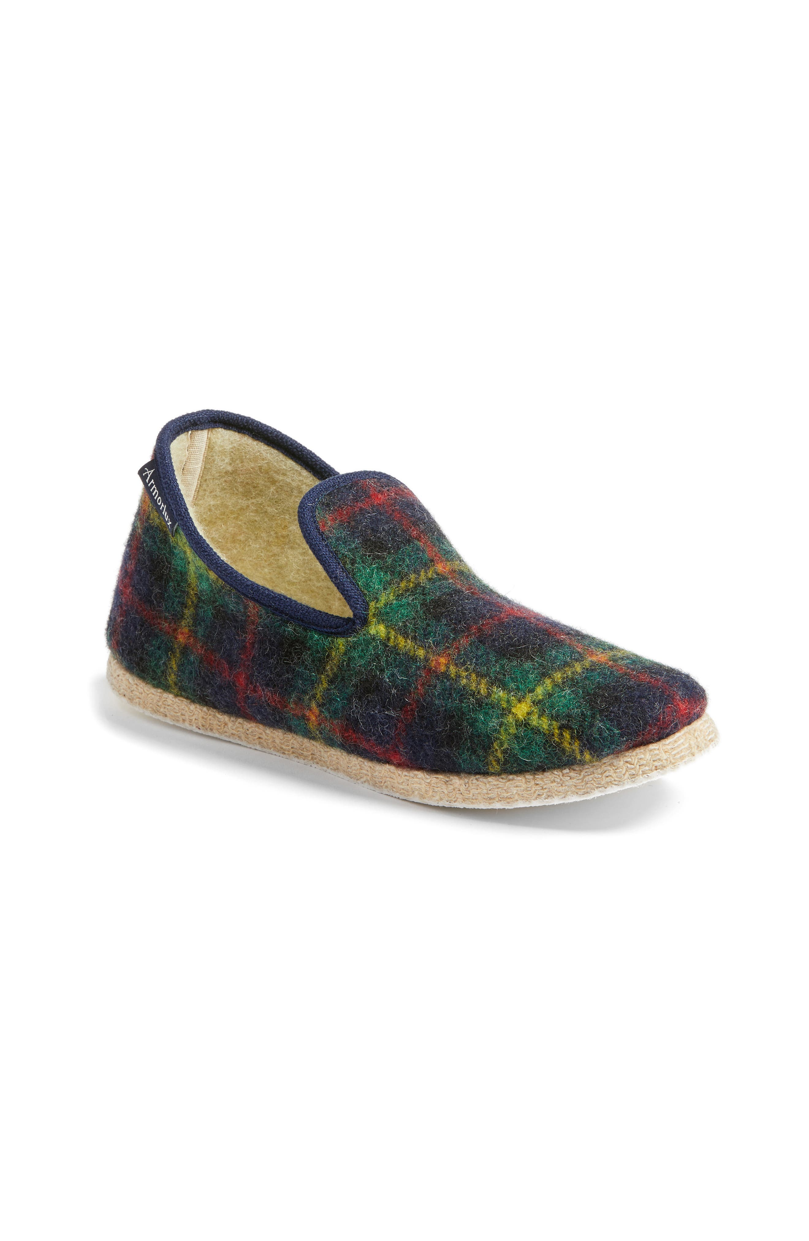 Armor Lux Plaid Slipper (Women)
