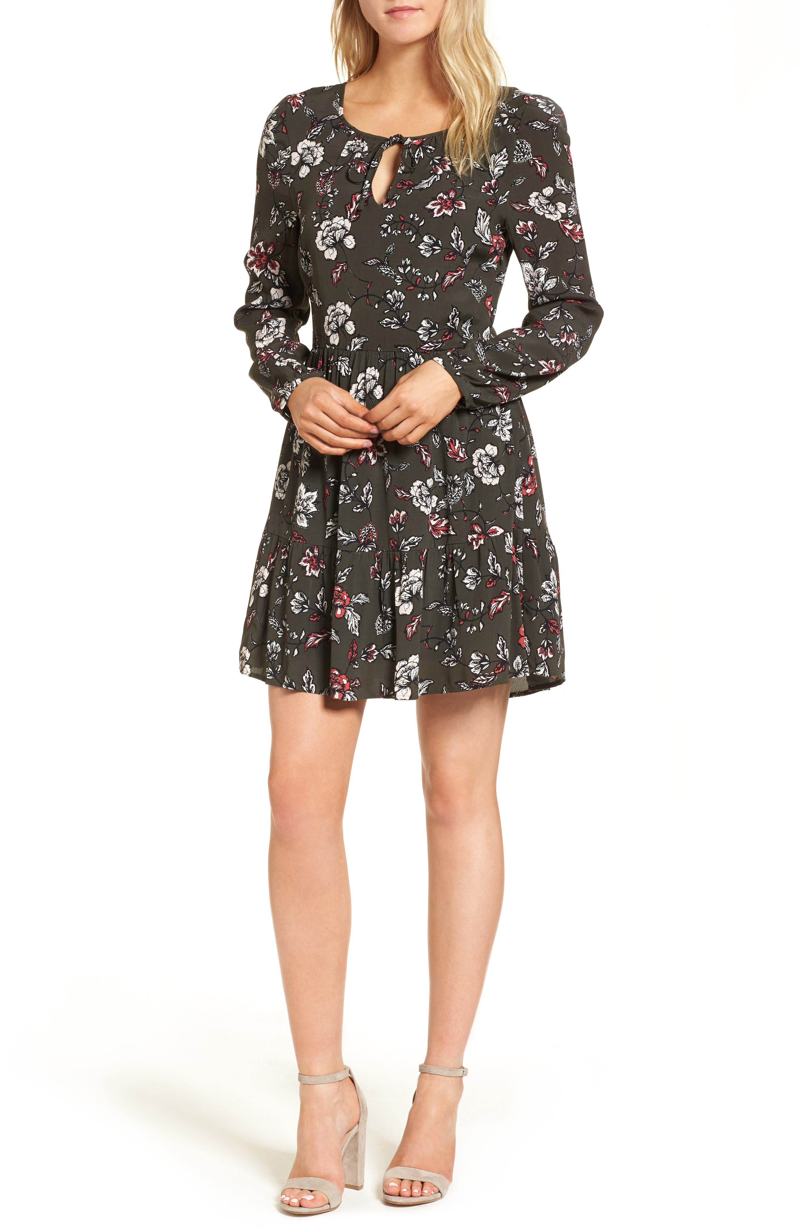 cupcakes and cashmere Cayleen Peasant Dress
