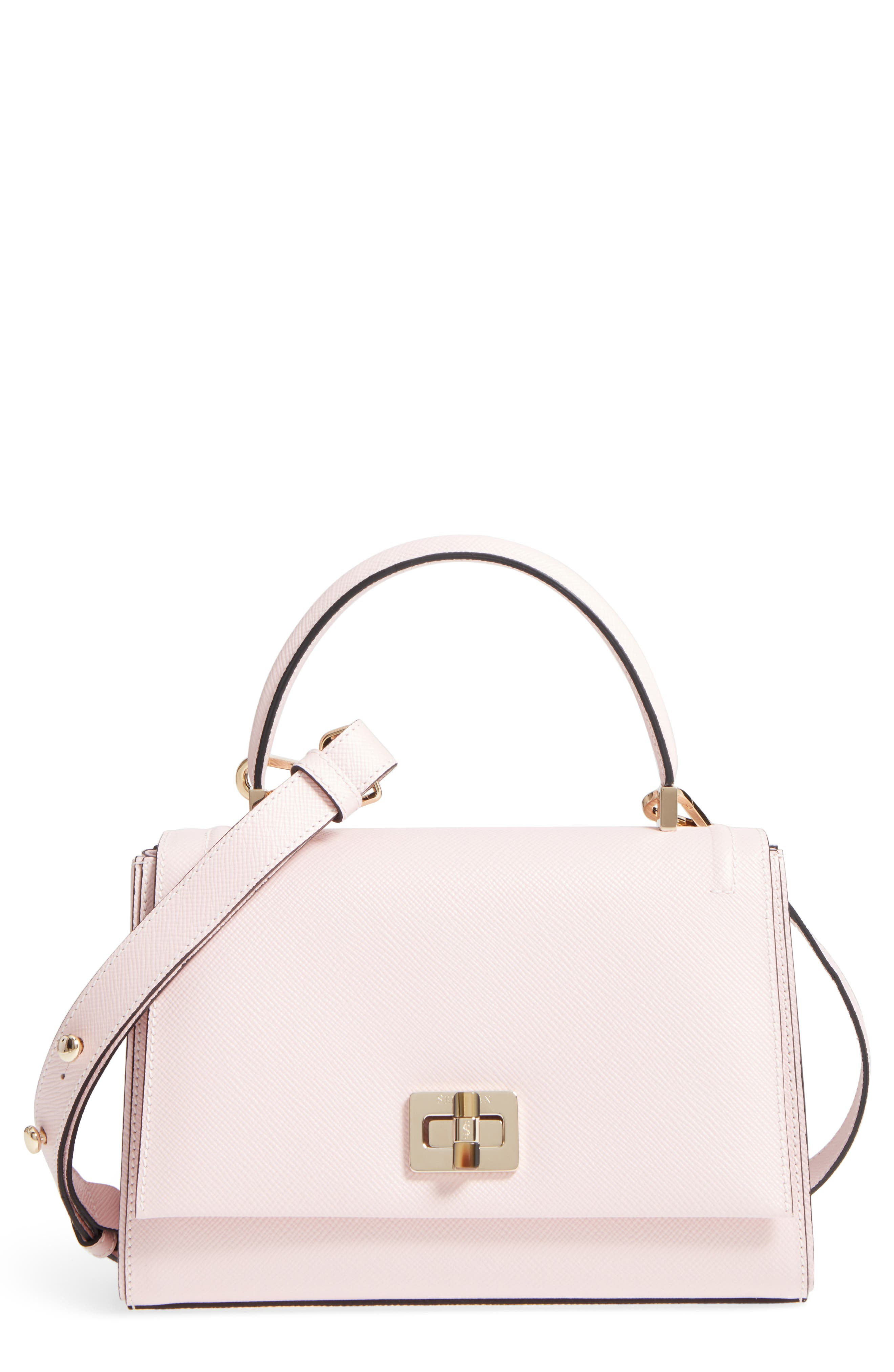 Alternate Image 1 Selected - Serapian Milano Small Elena Leather Satchel
